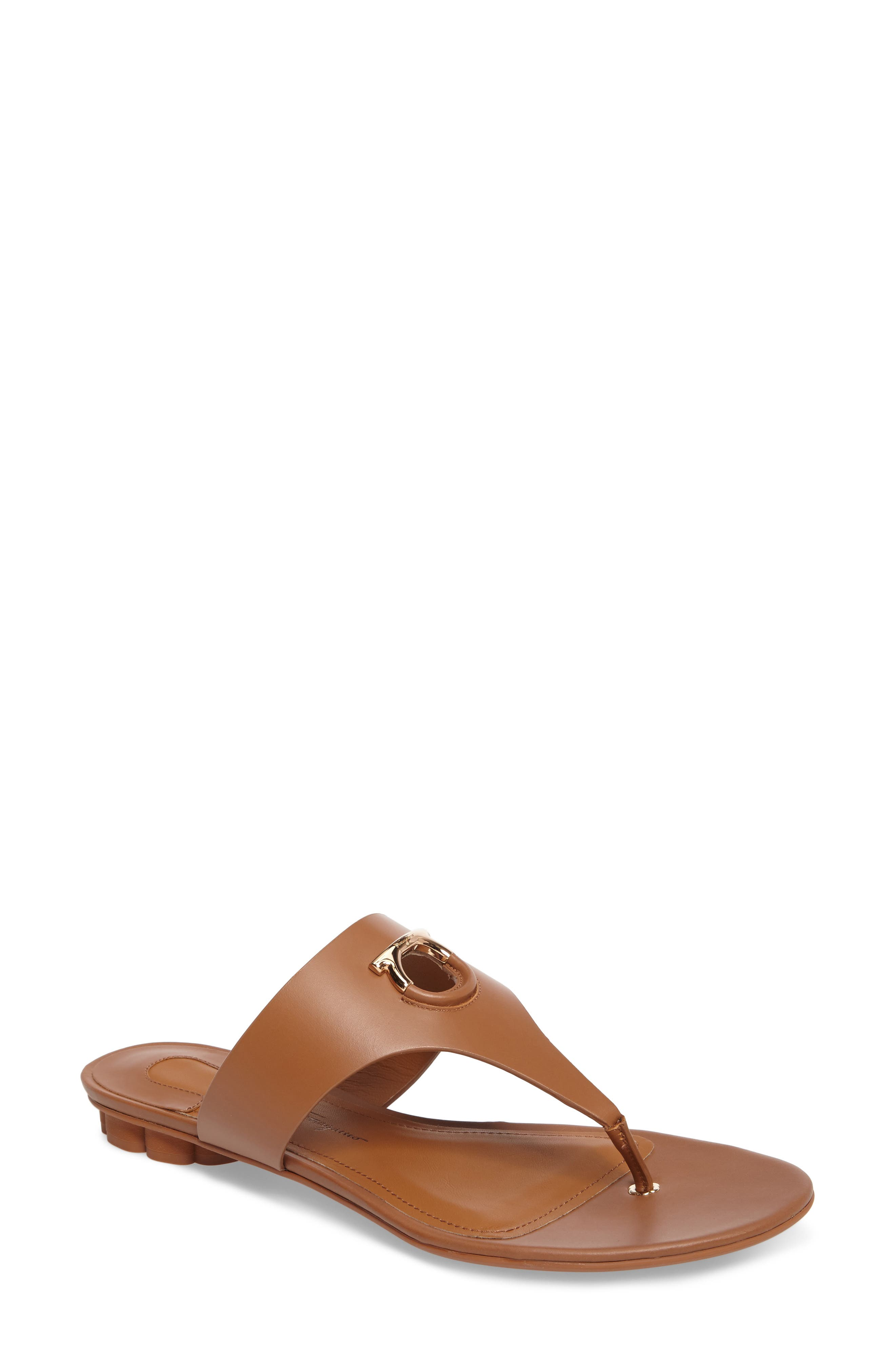 Salvatore Ferragamo Enfola Thong Sandal (Women)