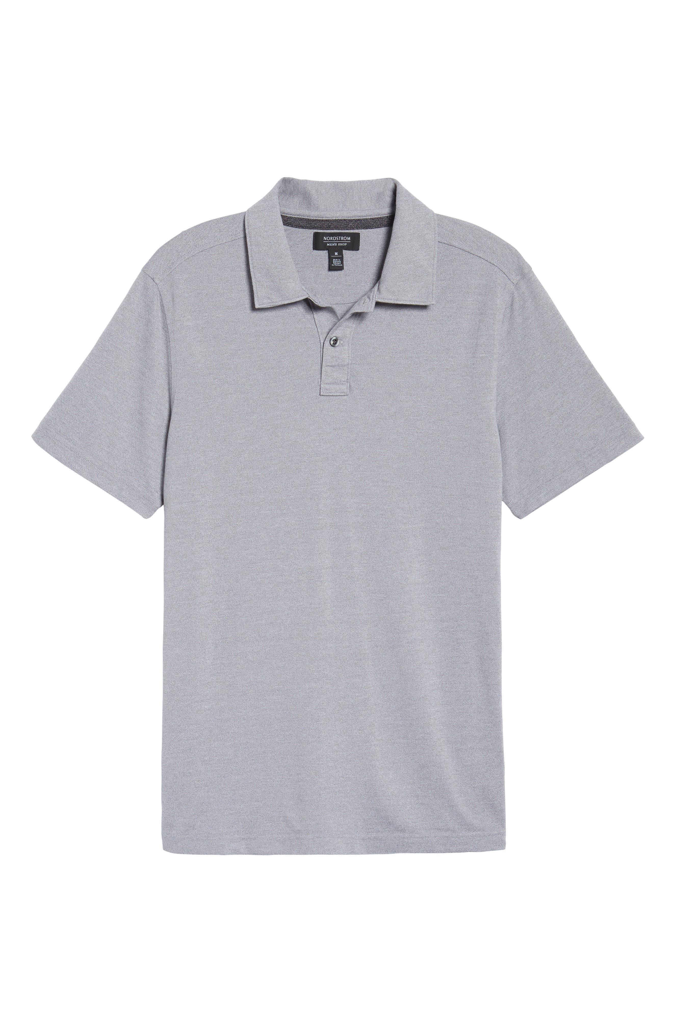 Alternate Image 6  - Nordstrom Men's Shop Regular Fit Polo