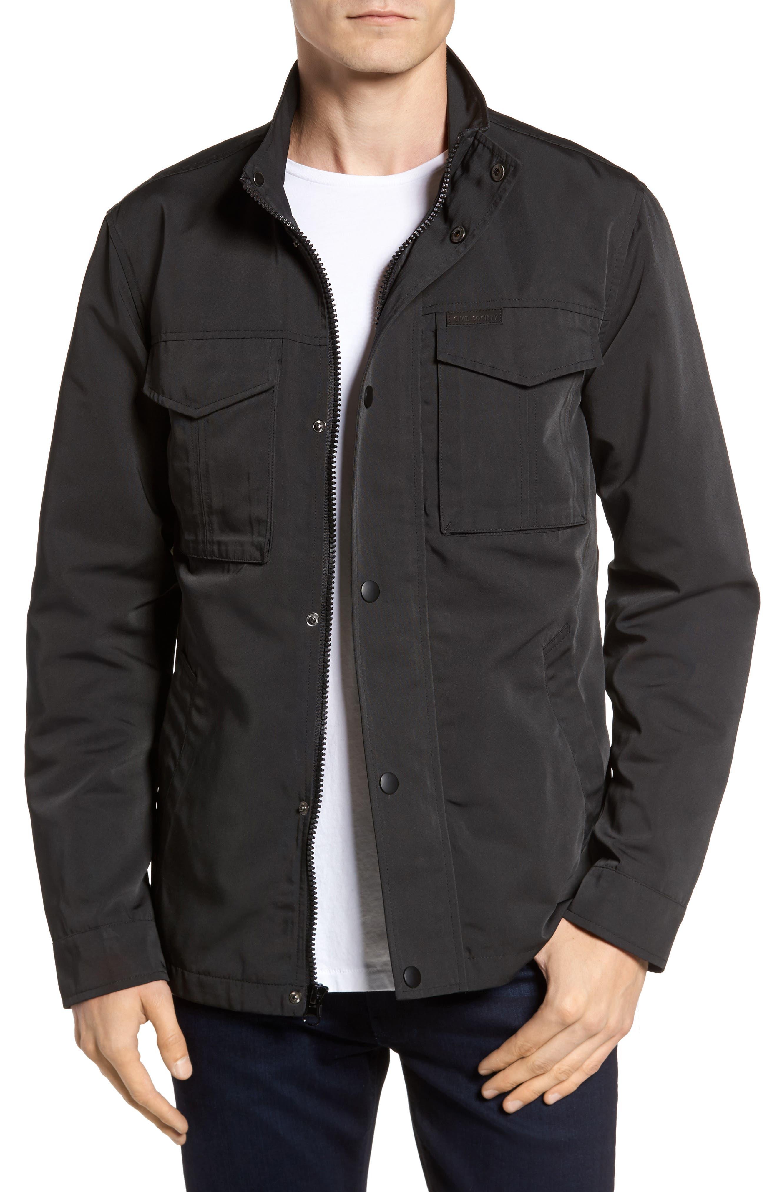 Alternate Image 1 Selected - Civil Society Dougie Waterproof Jacket