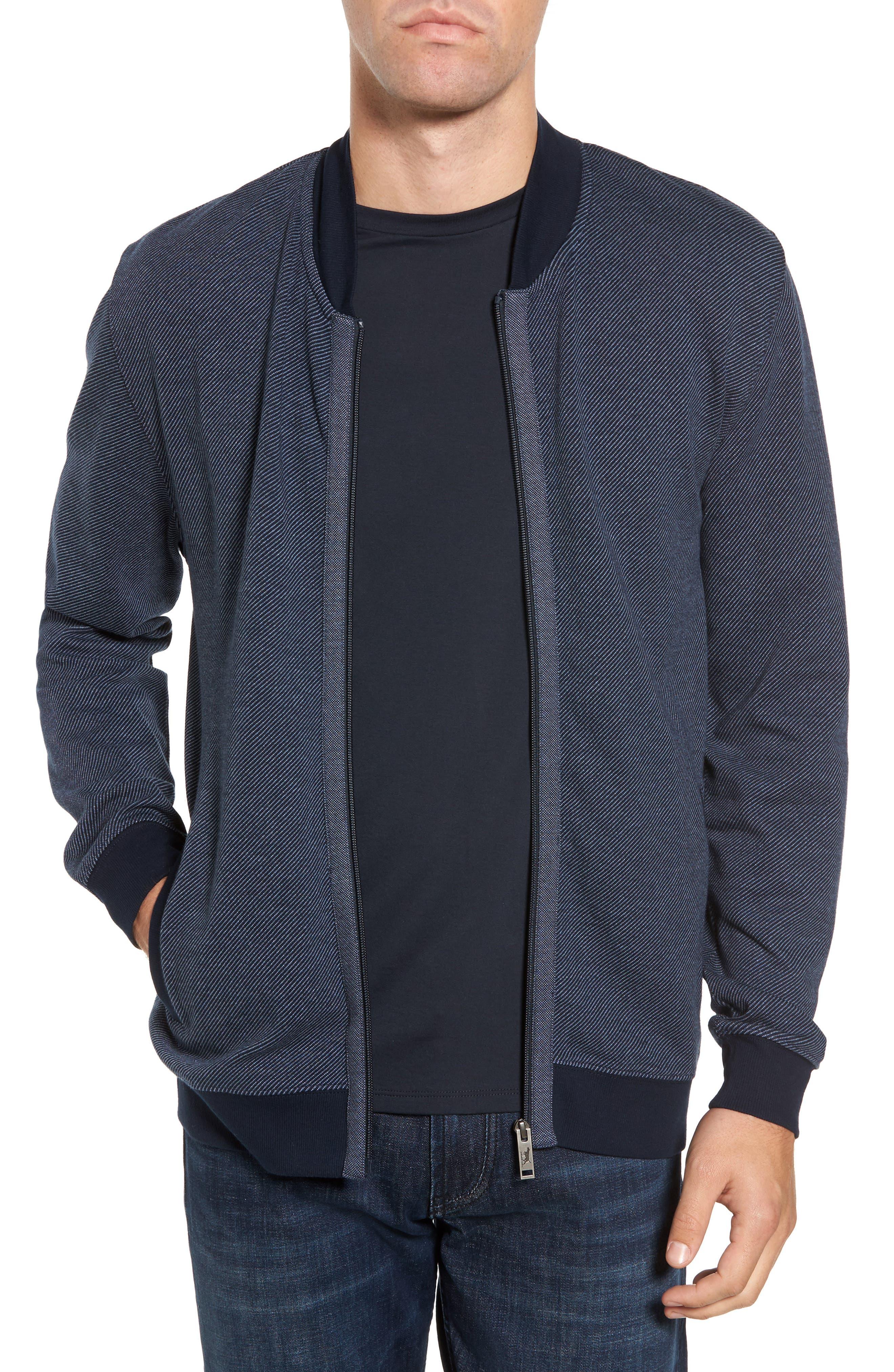 Alderson Ave Fleece Jacket,                         Main,                         color, Navy
