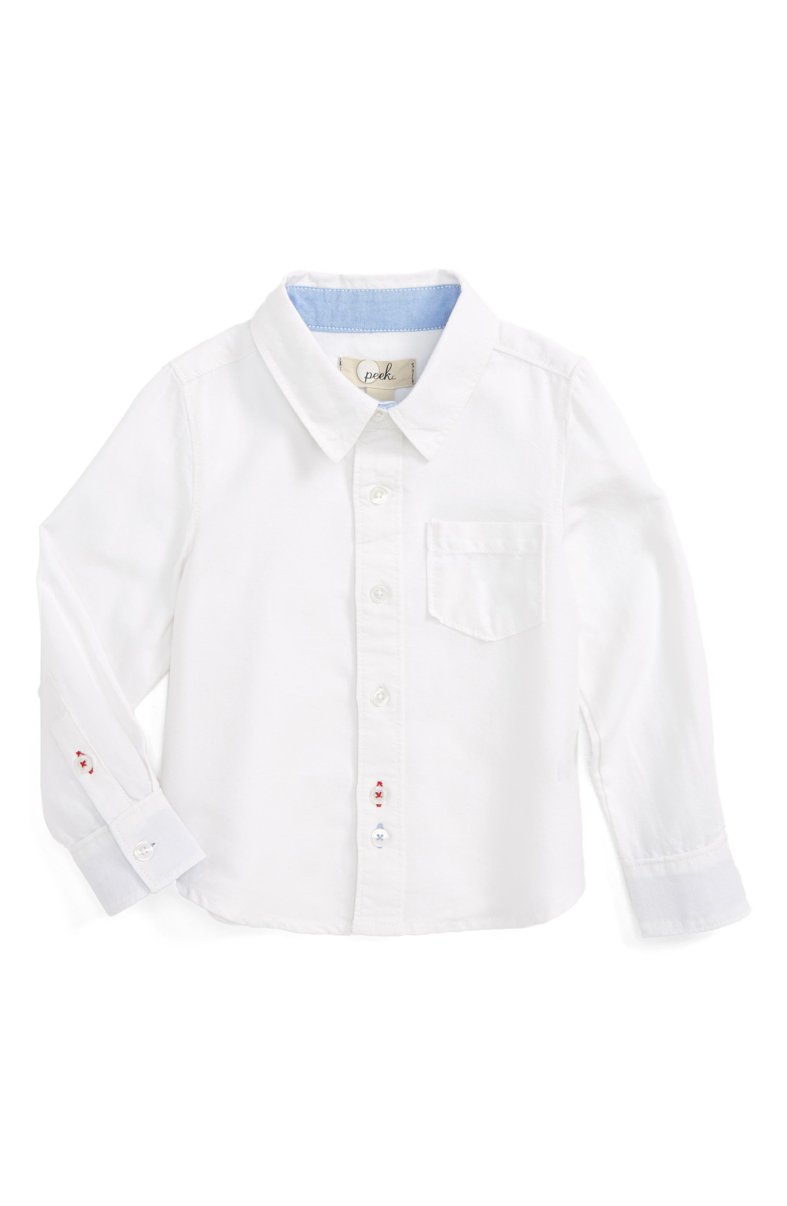 Peek Thomas Oxford Shirt (Toddler Boys, Little Boys & Big Boys)