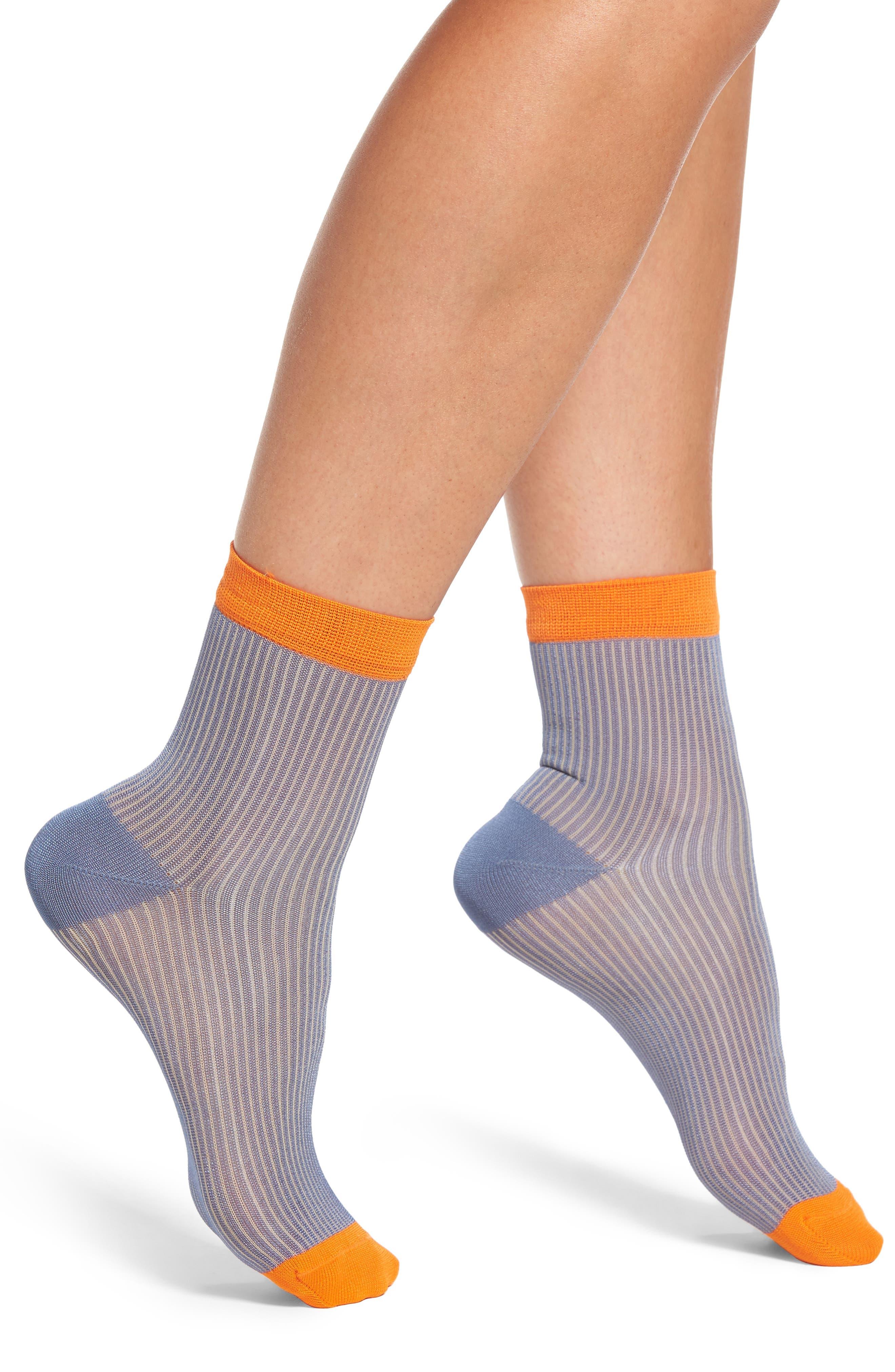 Main Image - Hysteria by Happy Socks Rita Ankle Socks