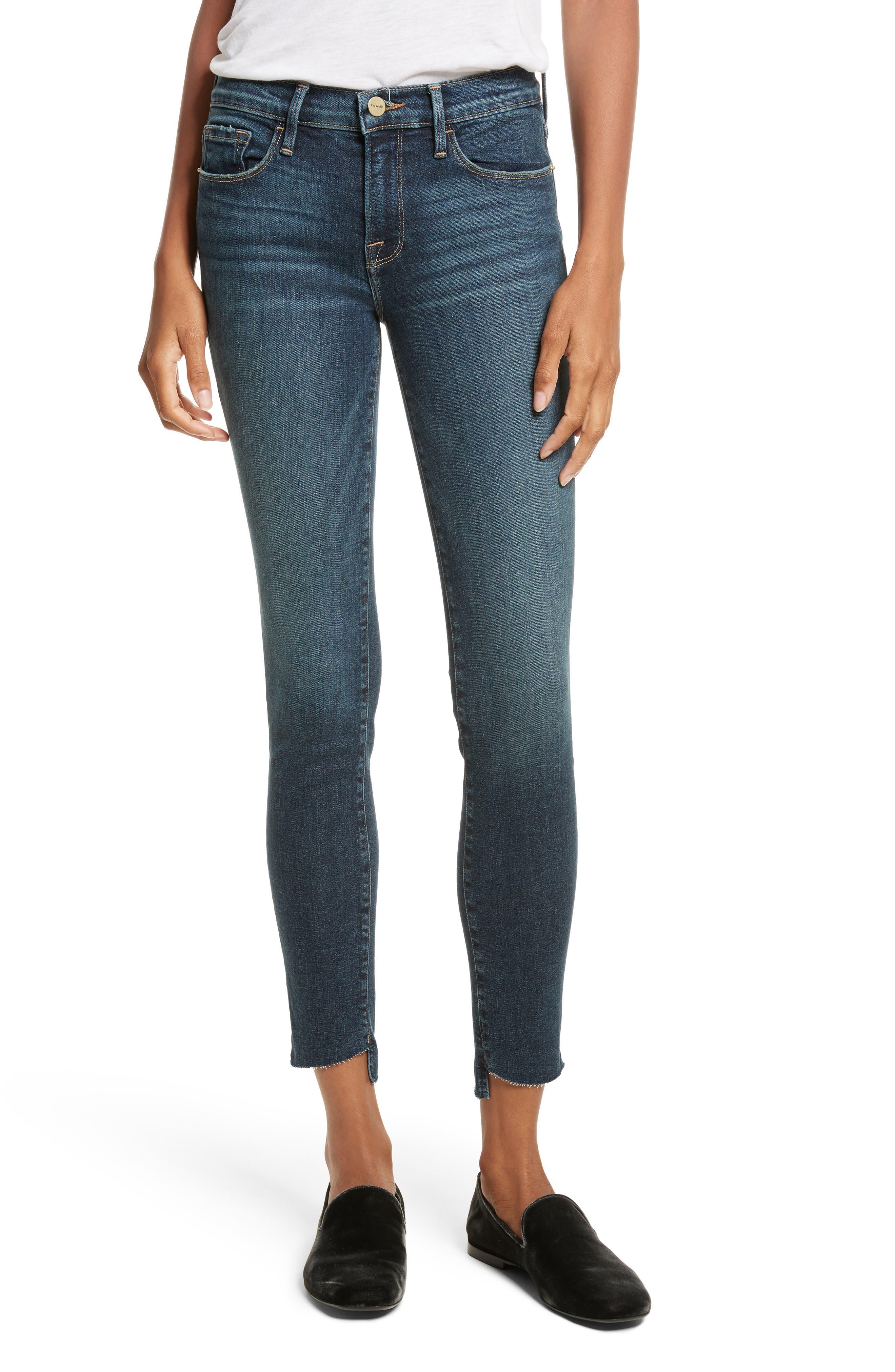 Main Image - FRAME Le Skinny de Jeanne Skinny Jeans (Astell)