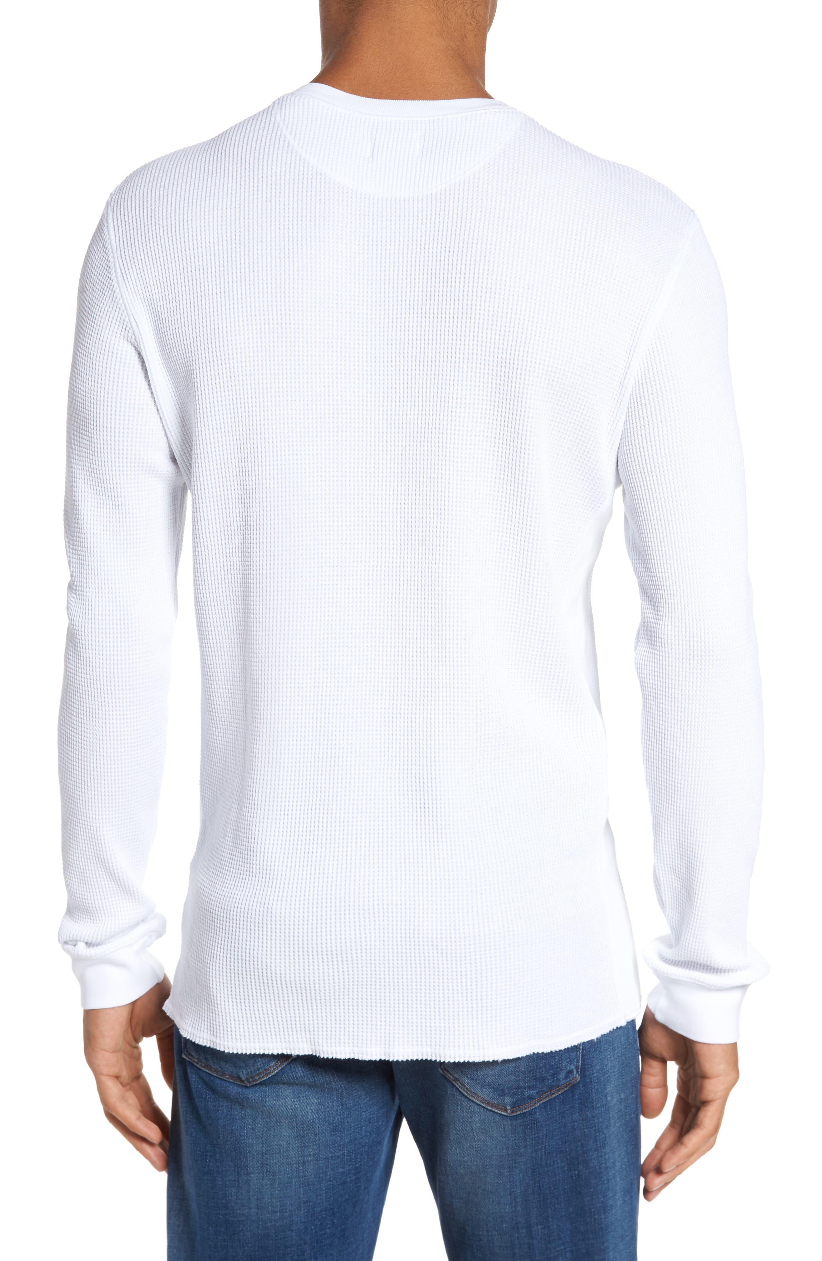 Travis Slim Fit Long Sleeve T-Shirt,                             Alternate thumbnail 2, color,                             True White