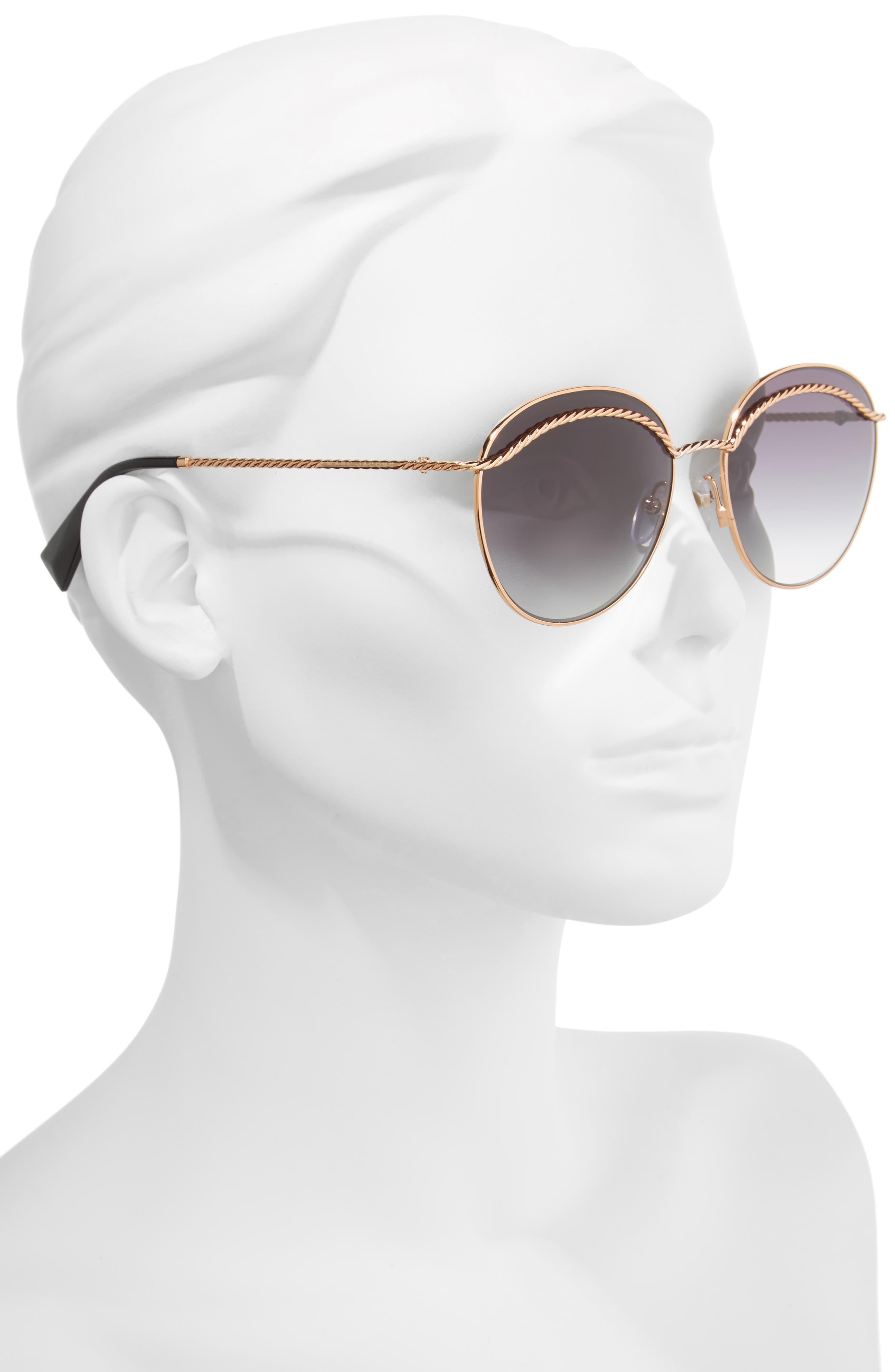 Alternate Image 2  - MARC JACOBS 58mm Round Sunglasses