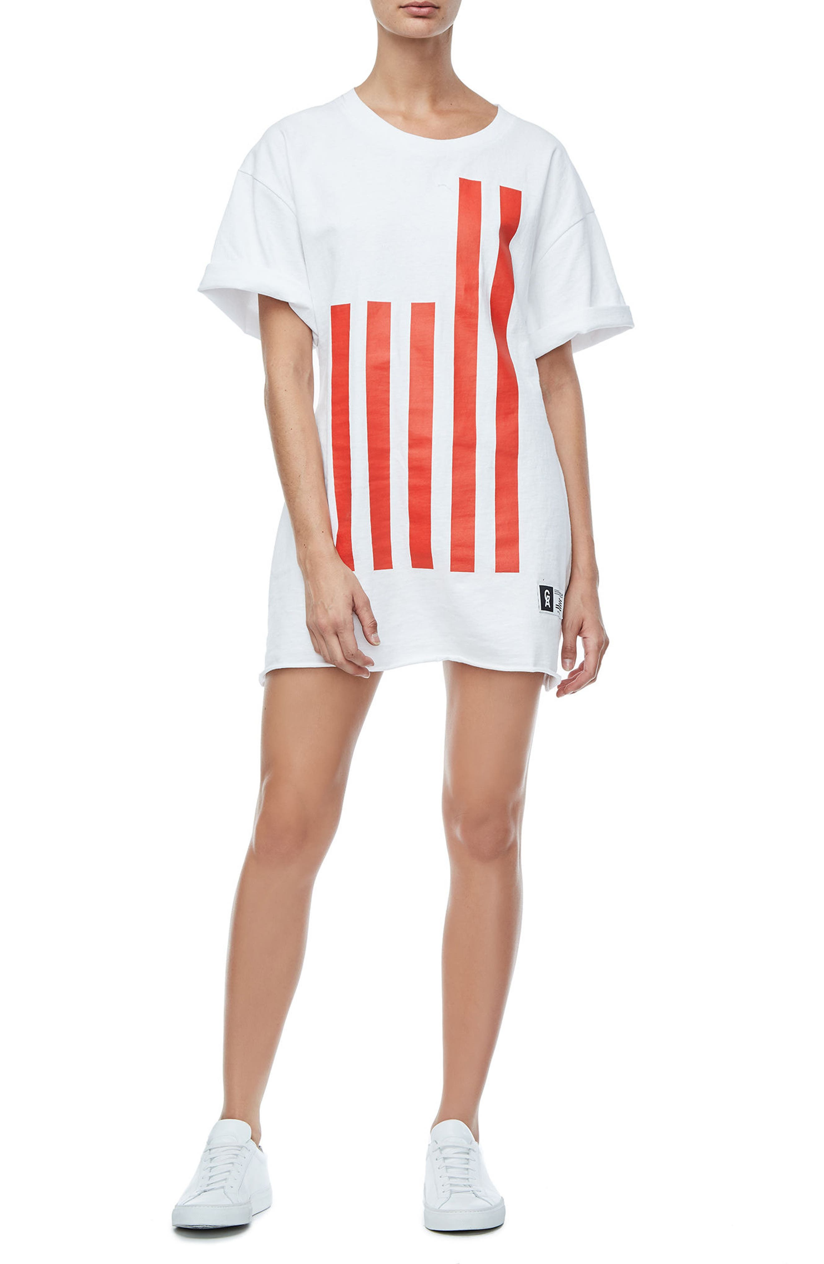 Goodies Graphic Oversize Tee,                             Alternate thumbnail 2, color,                             White001