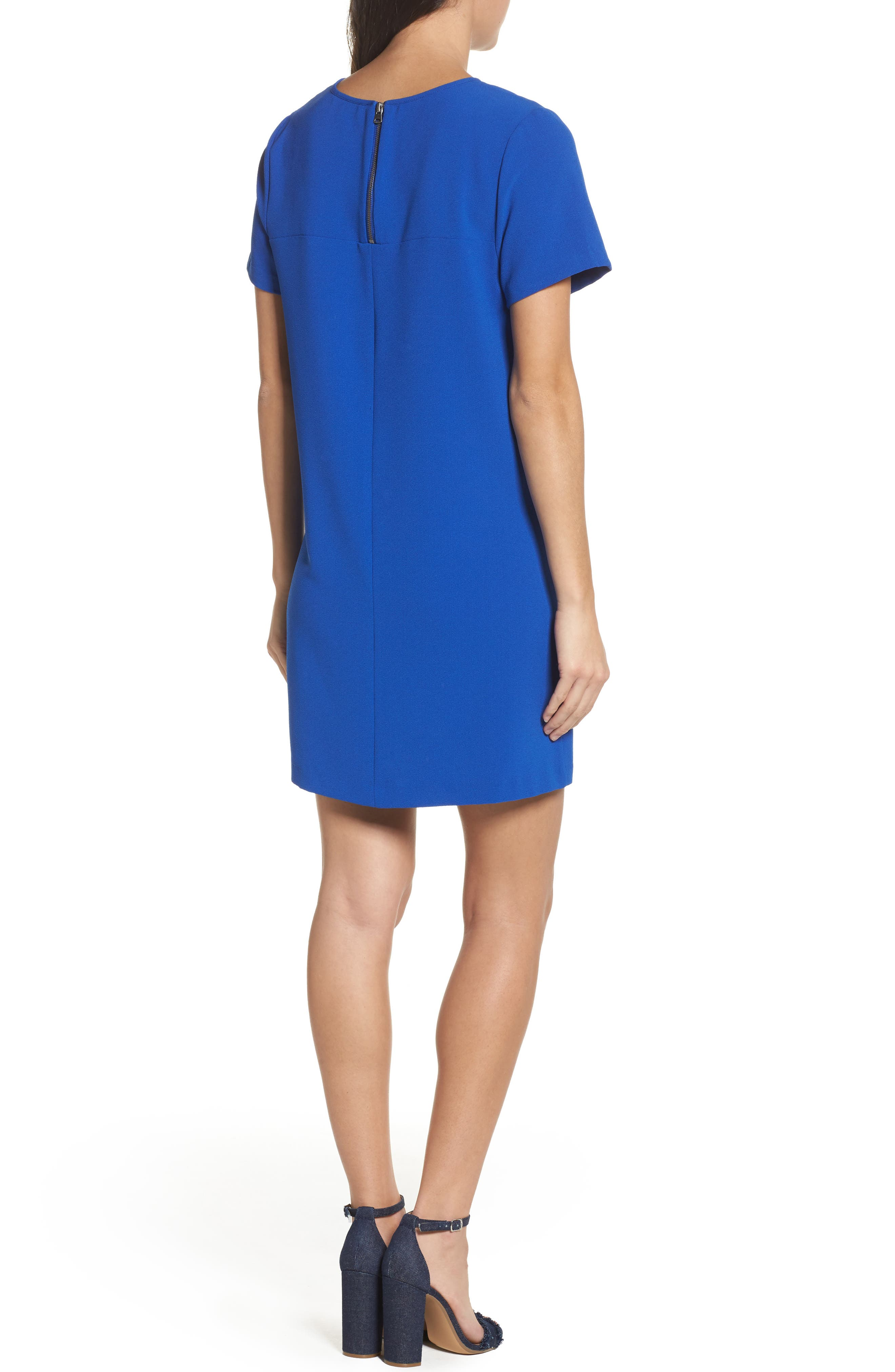 Alternate Image 2  - Felicity & Coco Devery Crepe Shift Dress (Nordstrom Exclusive)
