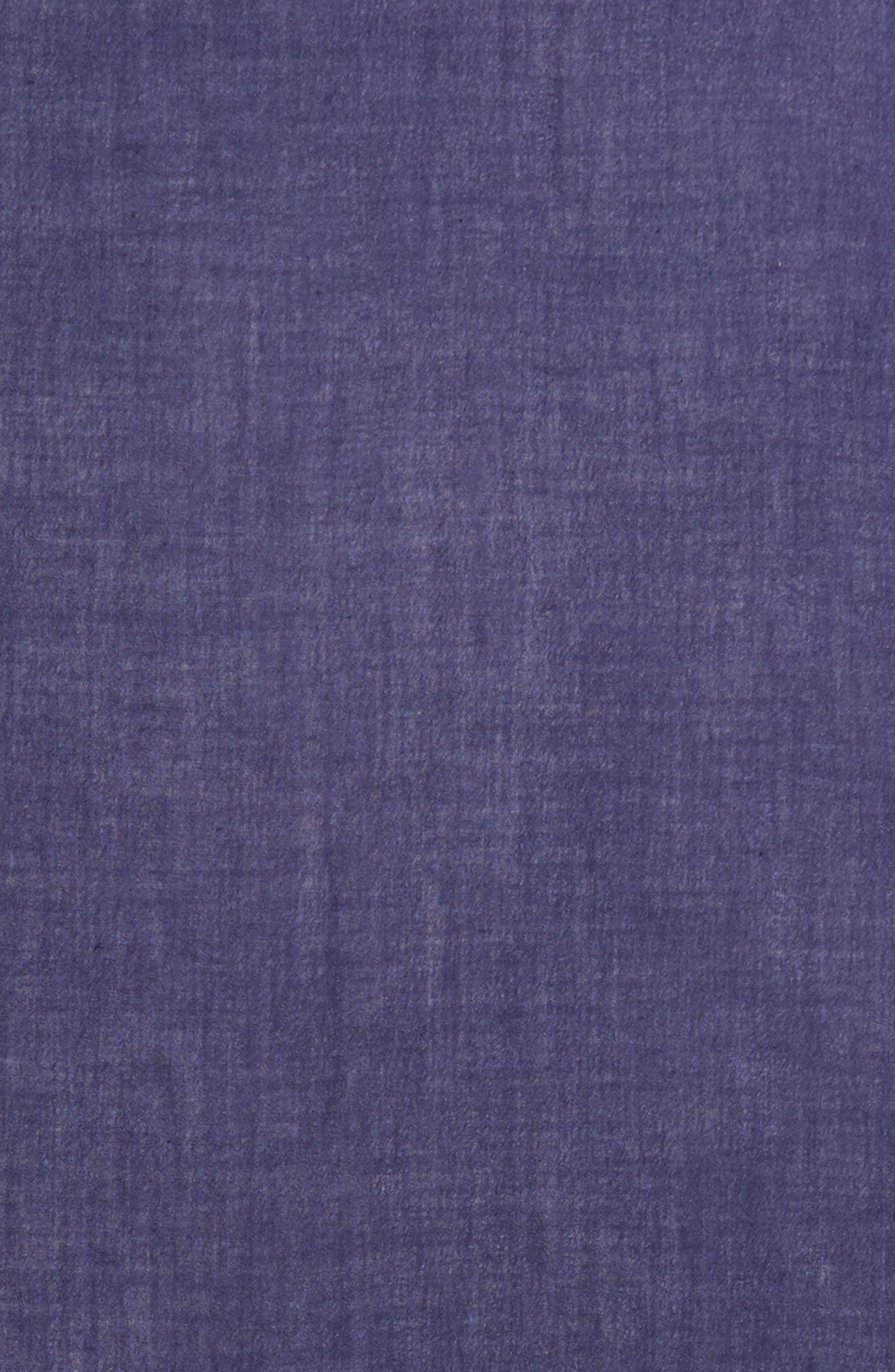 Cashmere & Silk Wrap,                             Alternate thumbnail 2, color,                             Navy Dusk