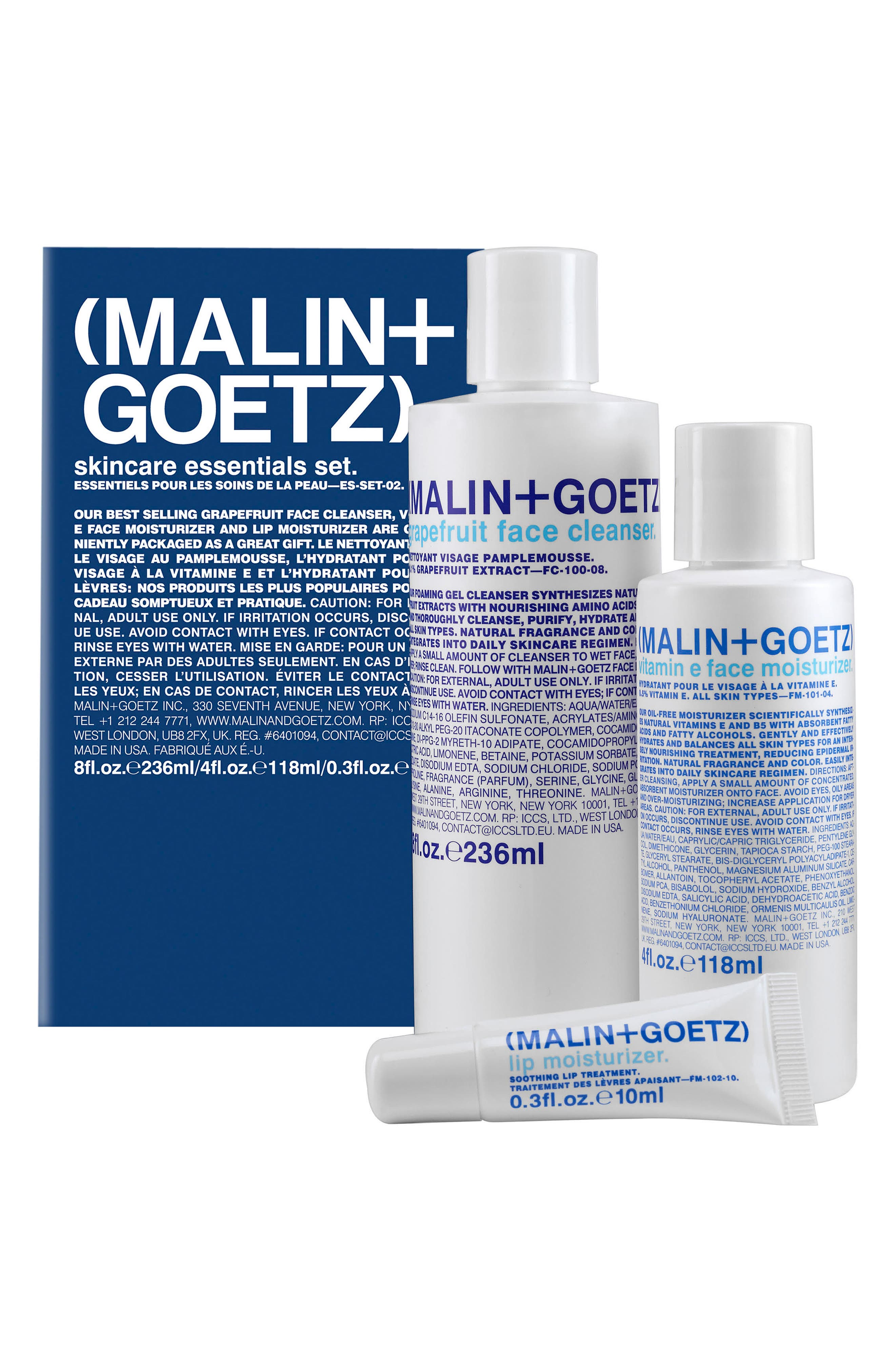 Alternate Image 1 Selected - Malin + Goetz Skin Care Essentials Collection ($96 Value)