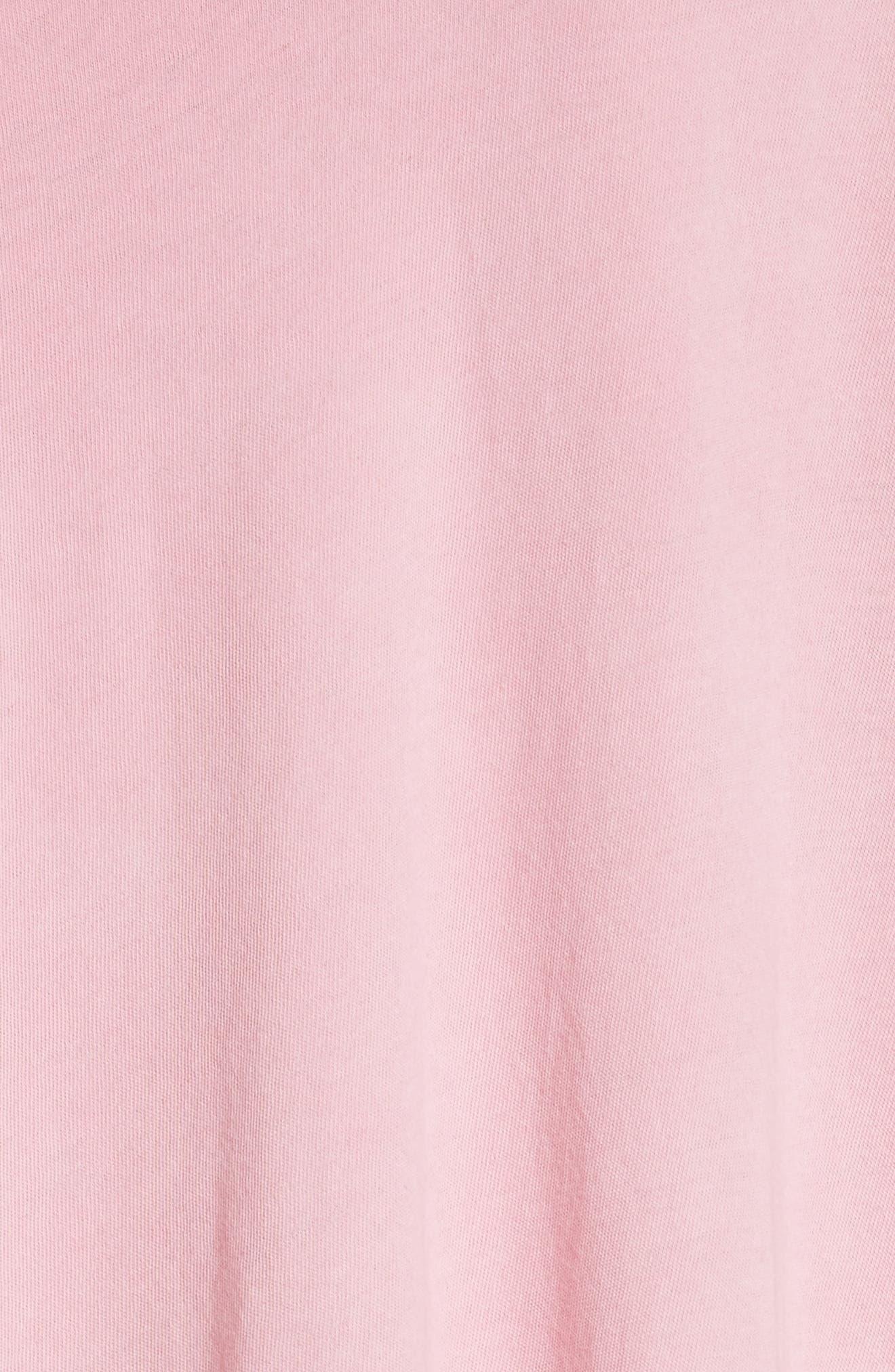 The Slouch Henley,                             Alternate thumbnail 6, color,                             Bubblegum