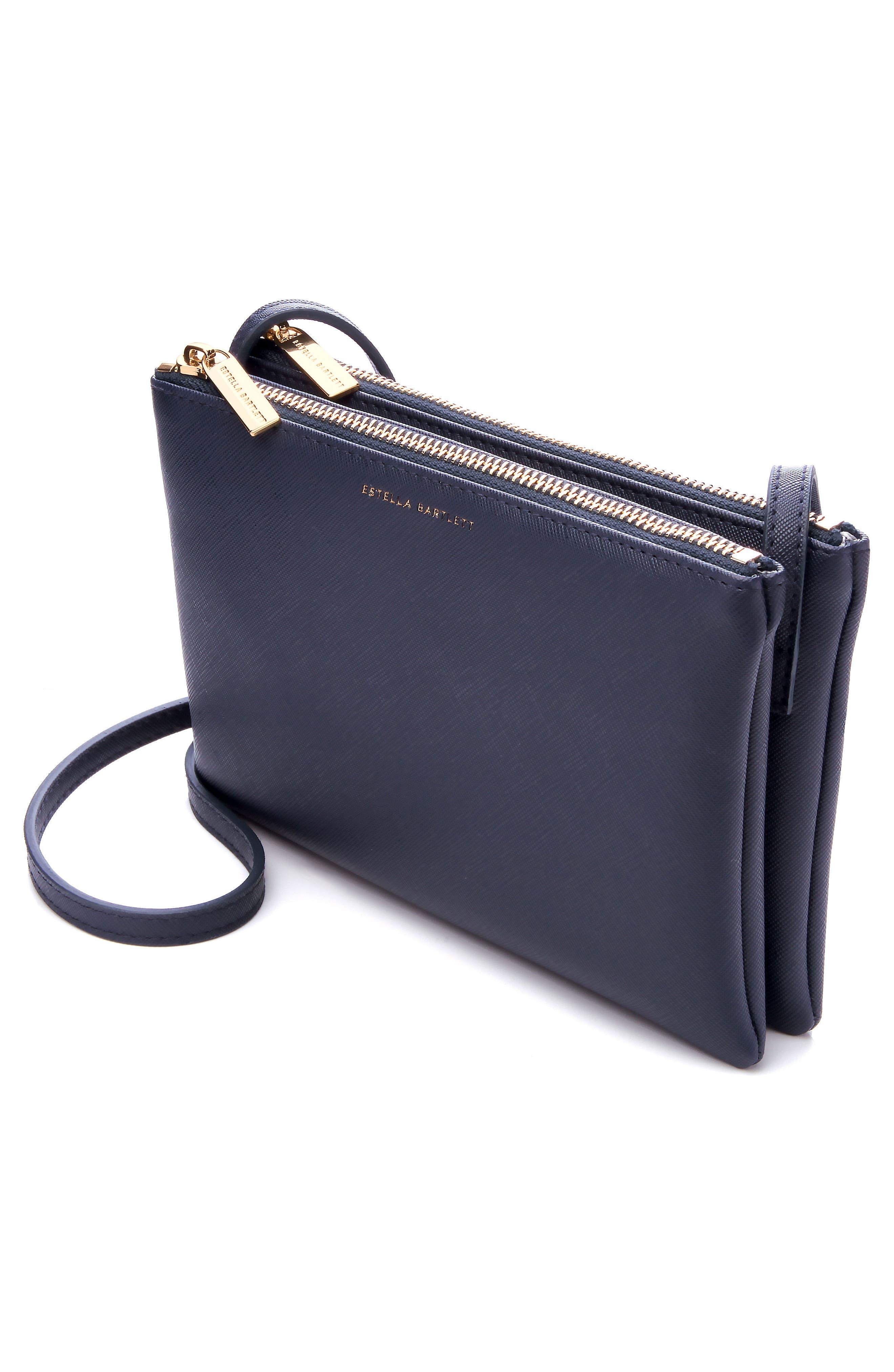 Alternate Image 2  - Estella Bartlett Double Faux Leather Crossbody Bag
