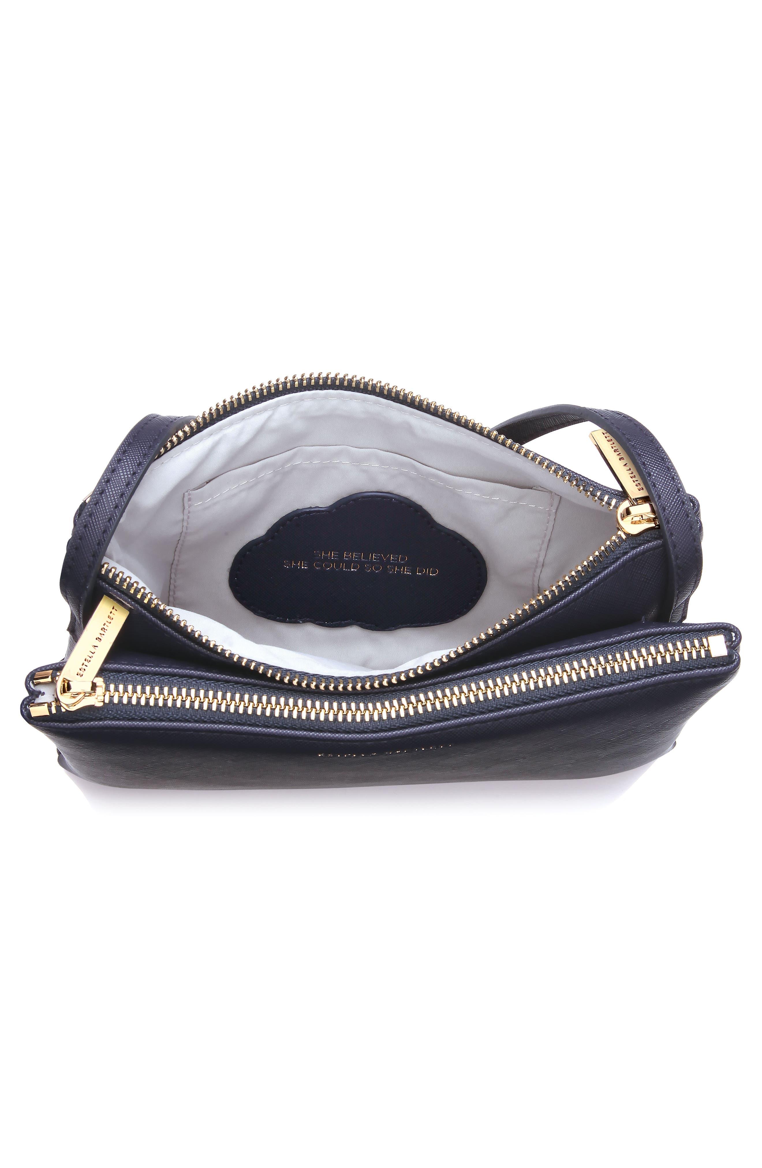 Alternate Image 3  - Estella Bartlett Double Faux Leather Crossbody Bag