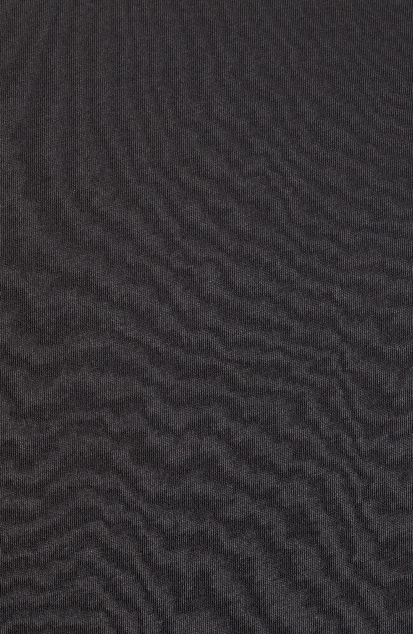 Madrugada Waves T-Shirt,                             Alternate thumbnail 5, color,                             V Black