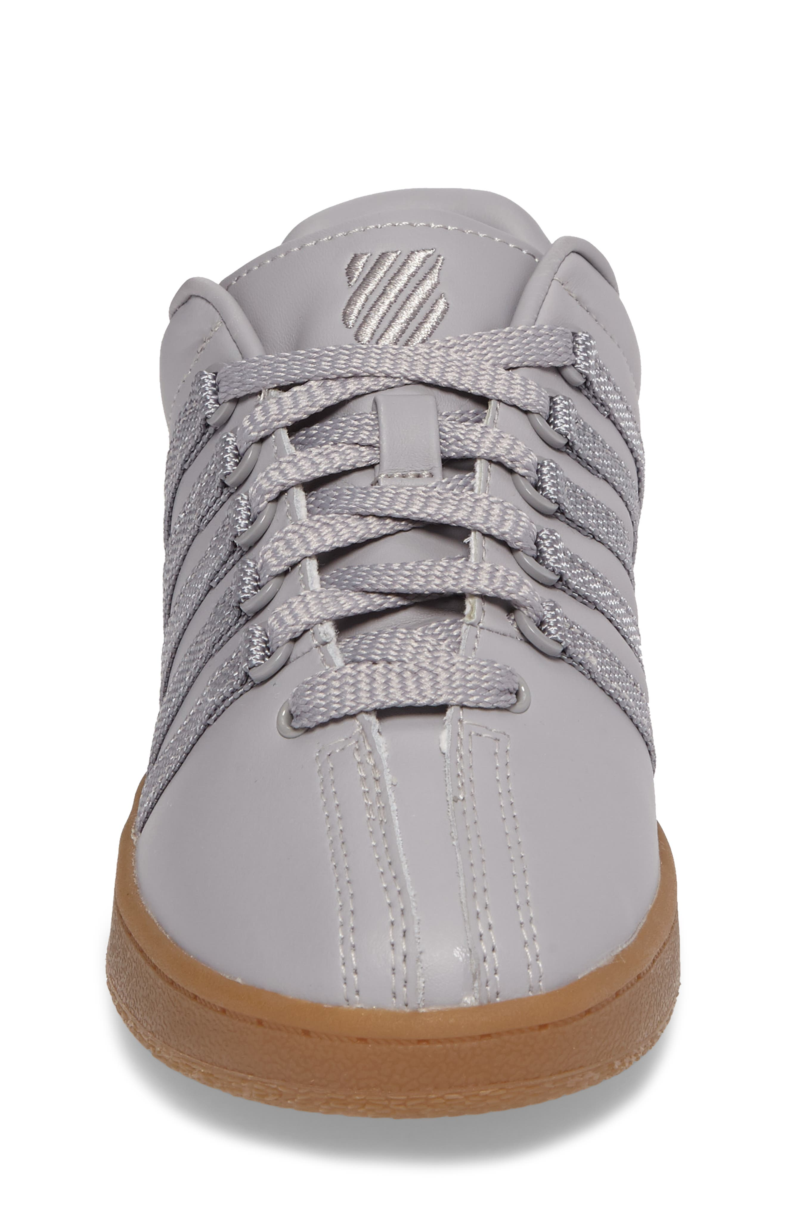'Classic' Sneaker,                             Alternate thumbnail 4, color,                             Gray