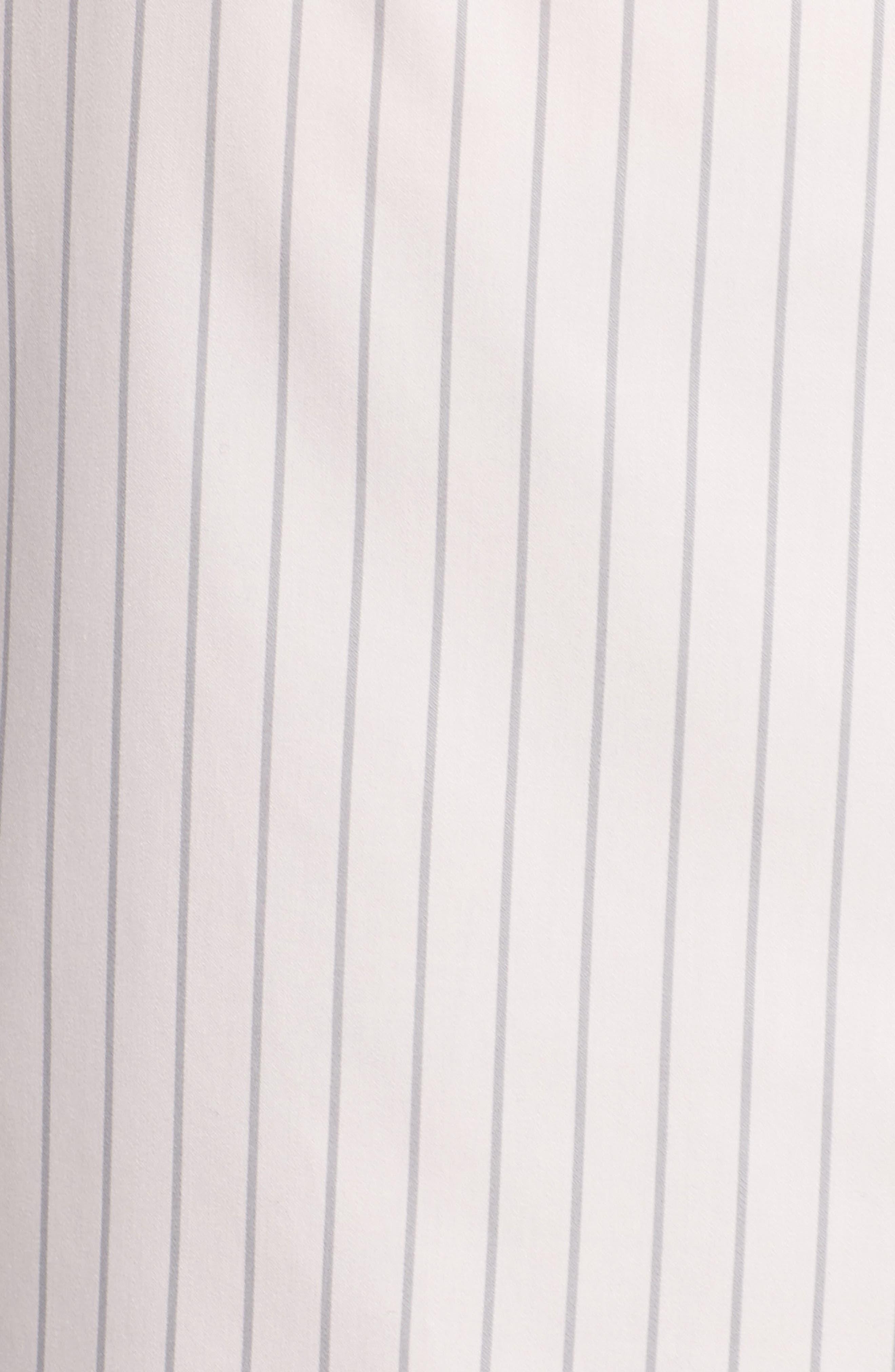 Patrice Classic Stripe Shirt,                             Alternate thumbnail 5, color,                             Blush