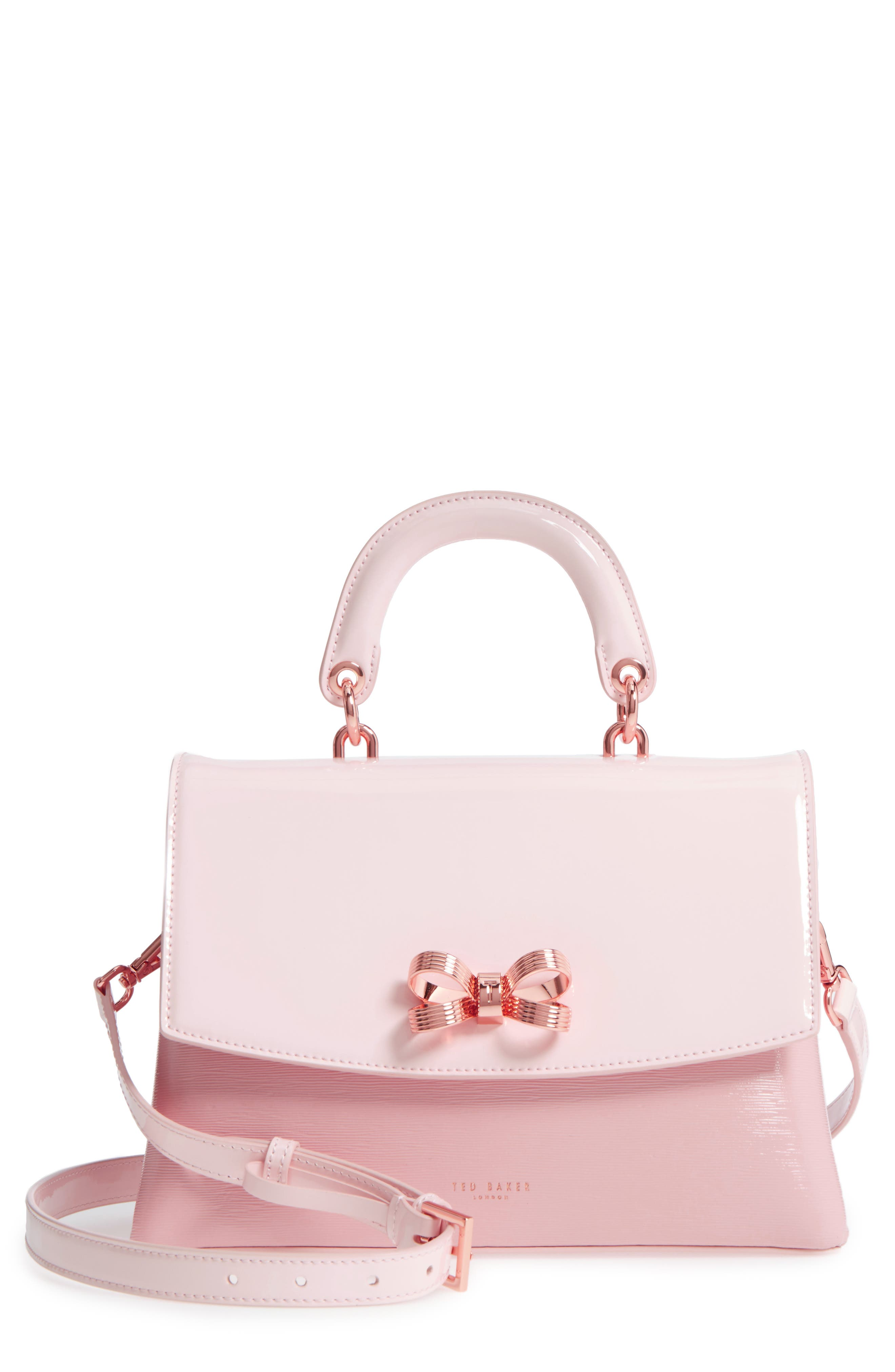 Ted Baker London Lilacc Lady Bag Leather Top Handle Satchel