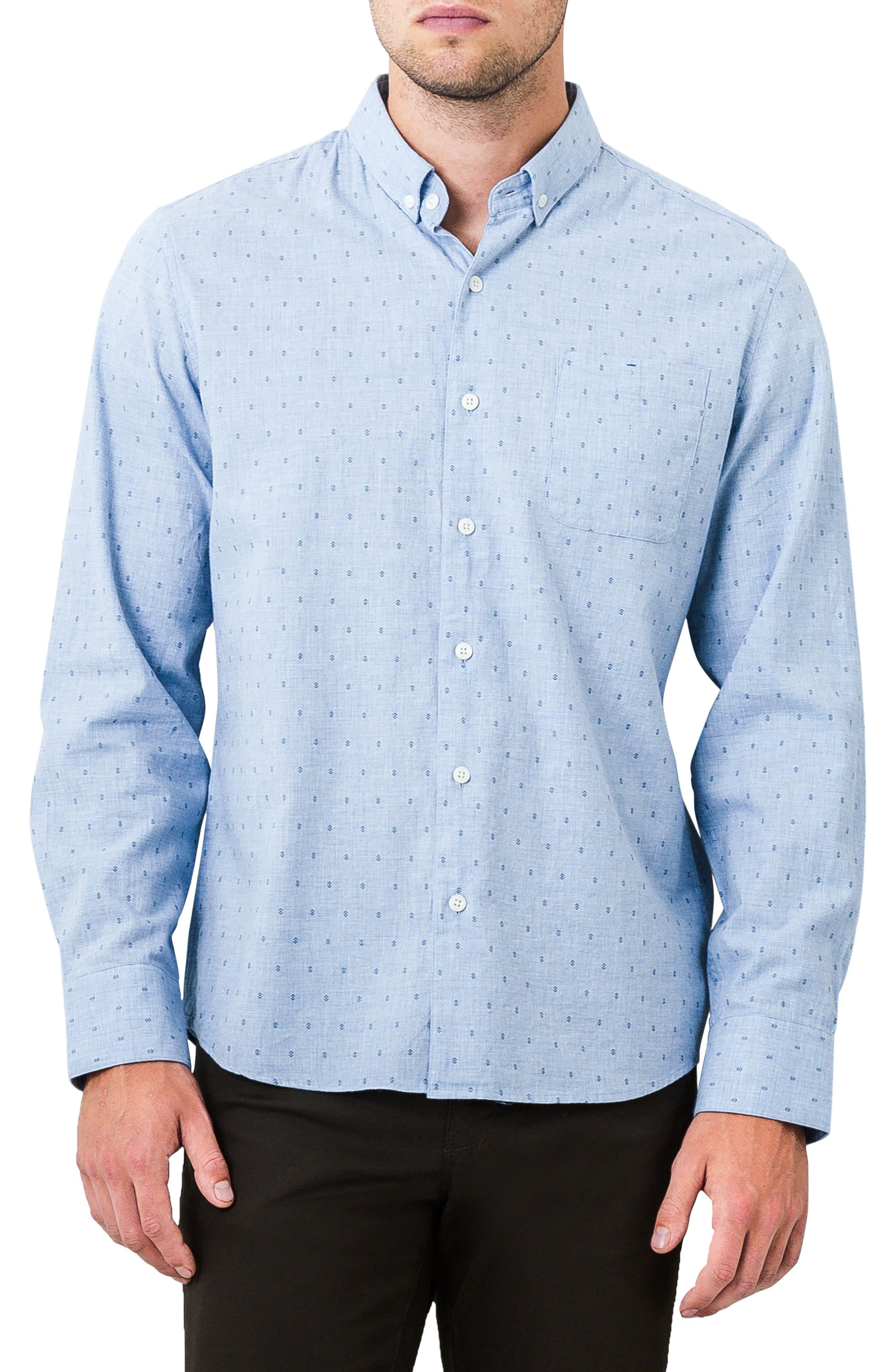 Main Image - 7 Diamonds First Light Woven Shirt