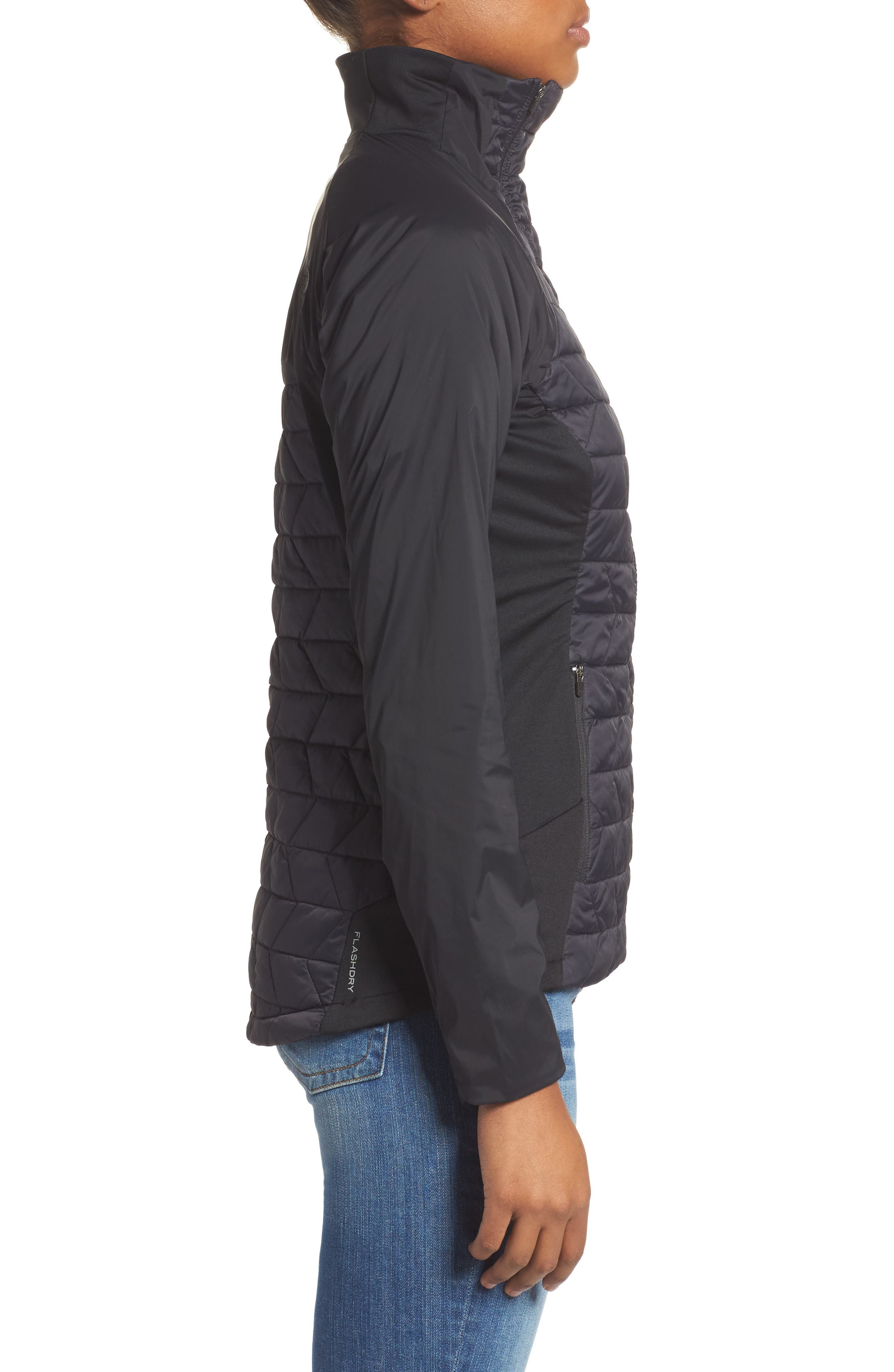 ThermoBall<sup>™</sup> Active Jacket,                             Alternate thumbnail 3, color,                             Tnf Black