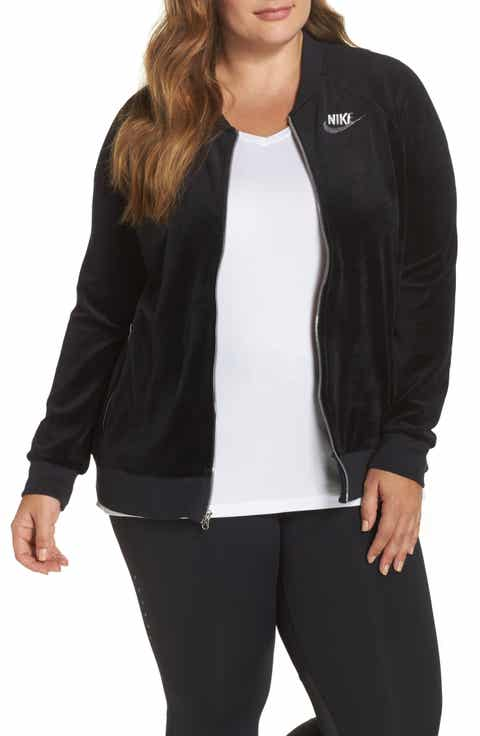Nike Velour Jacket (Plus Size)