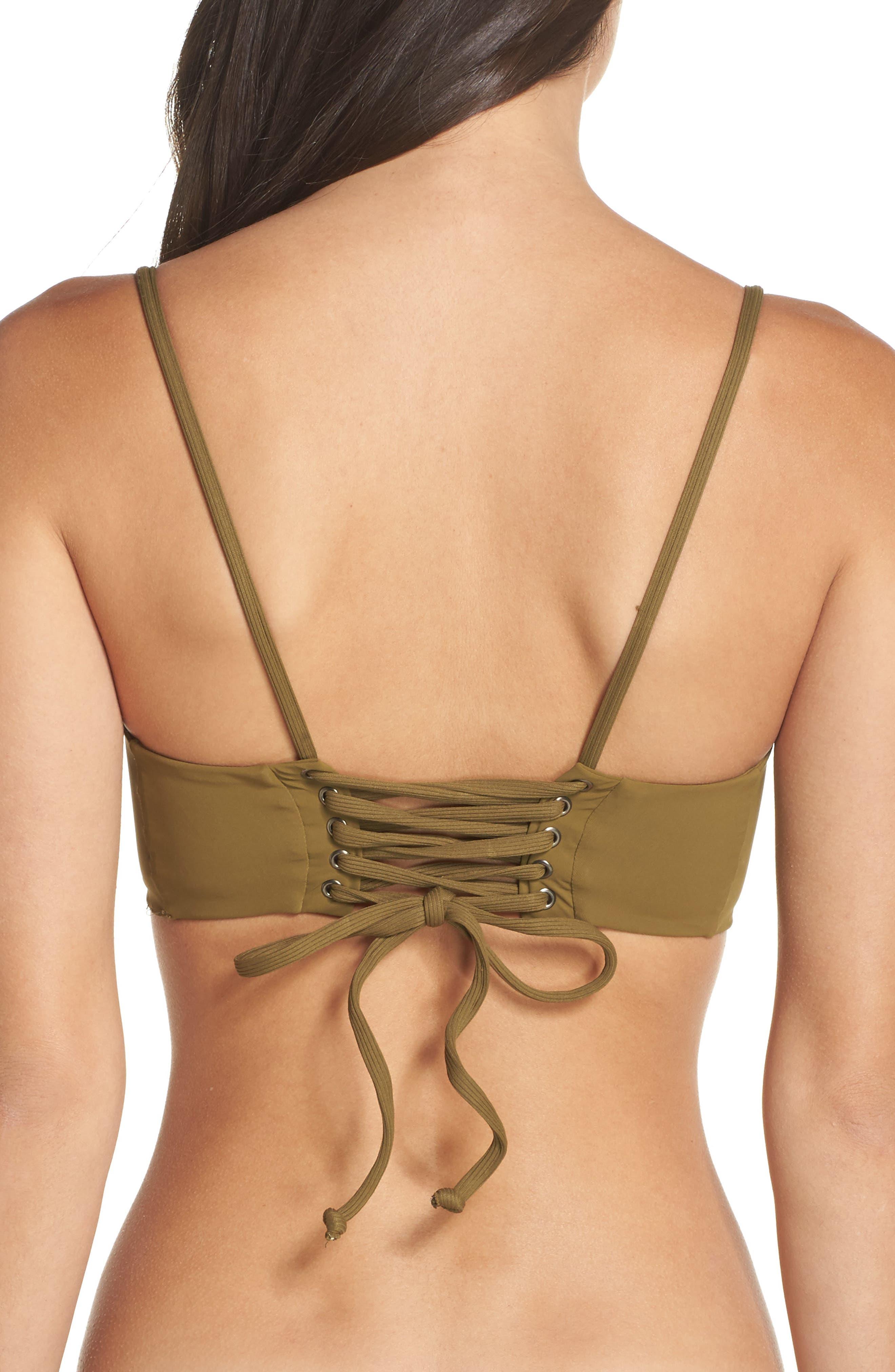 Alternate Image 2  - Boys + Arrows Ms. Jackson Bikini Top
