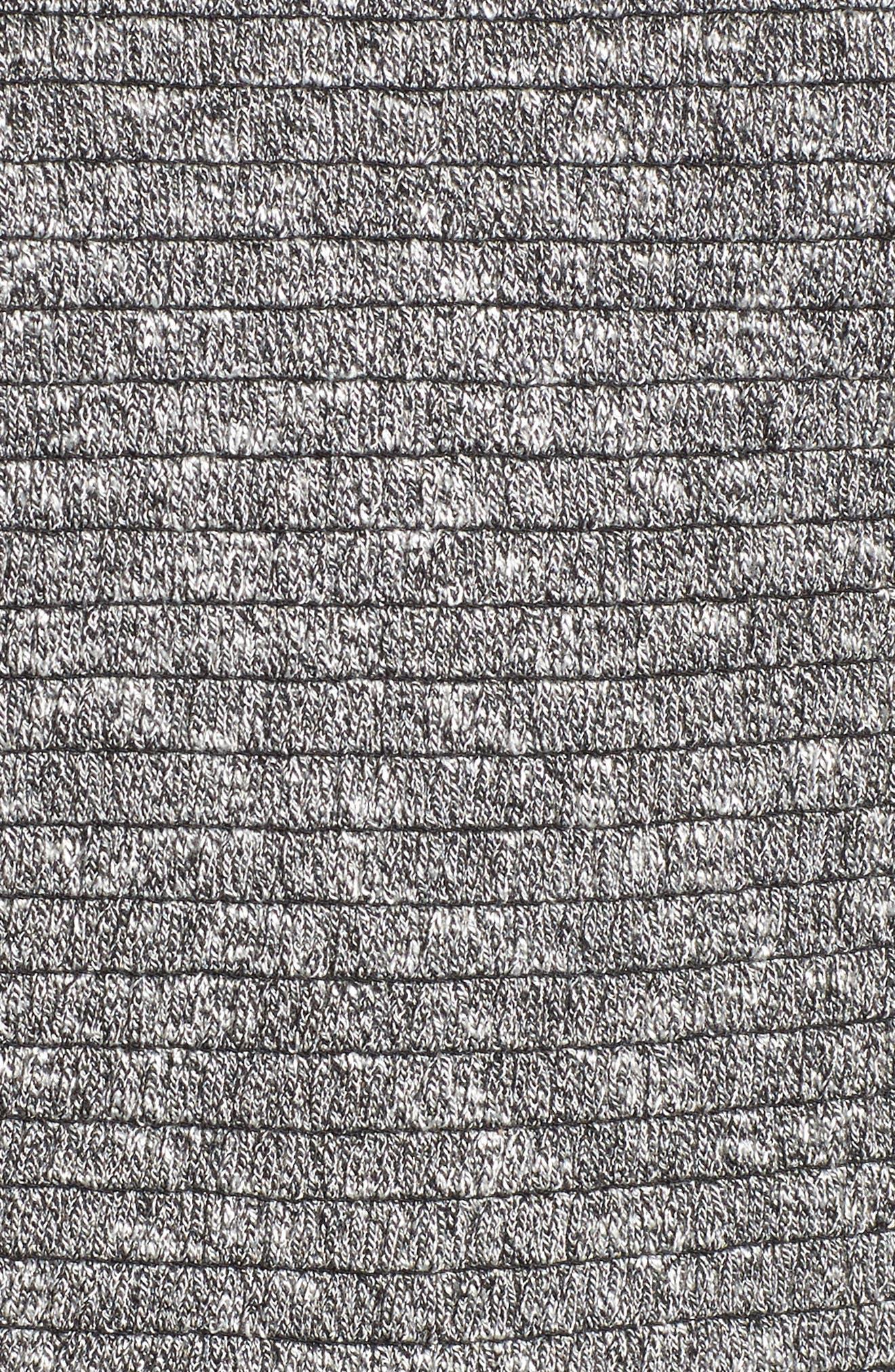 Smocked Knit Tank Top,                             Alternate thumbnail 5, color,                             Grey