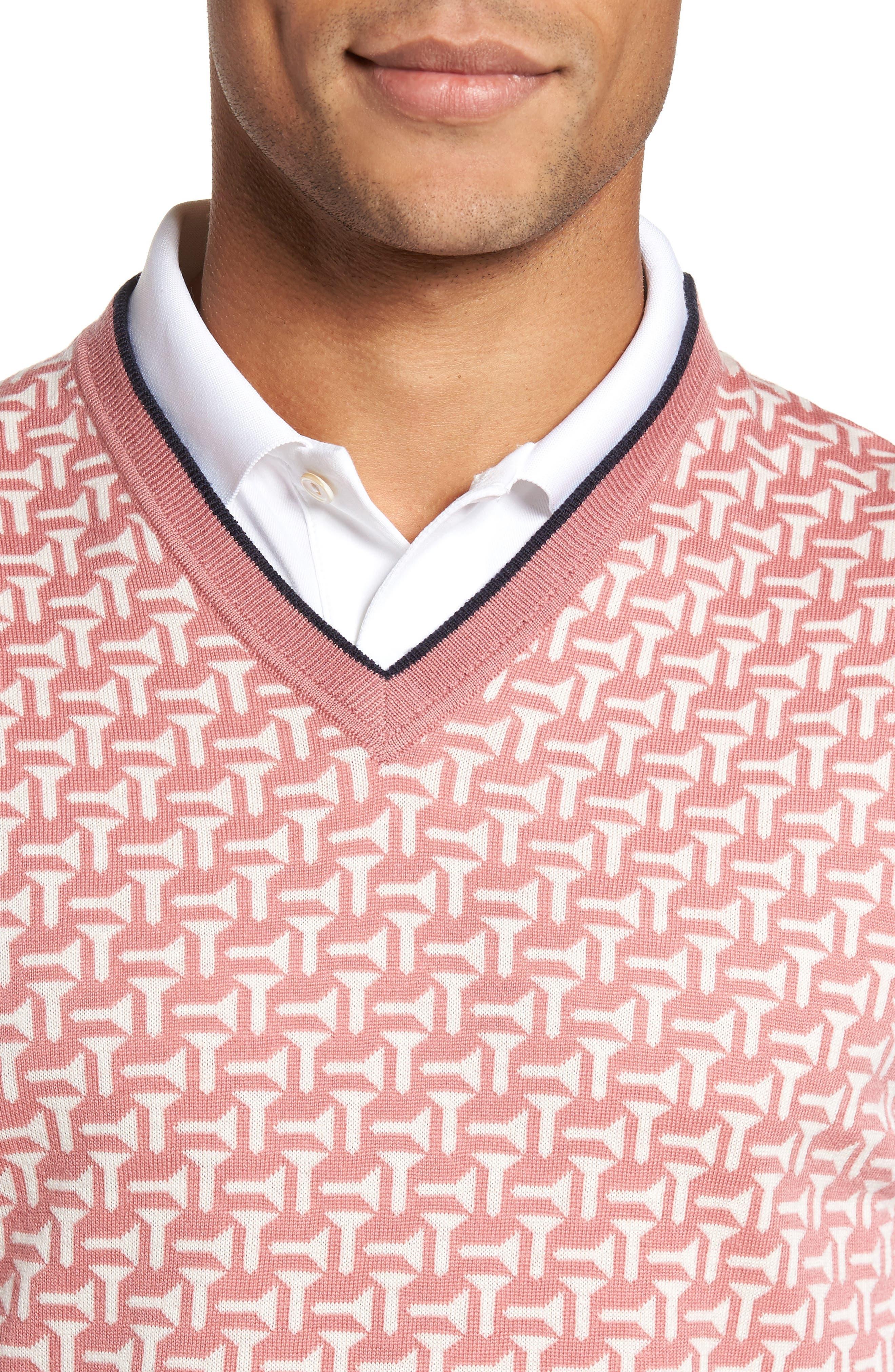 Alternate Image 4  - Ted Baker London Tommas Golf Merino Sweater Vest