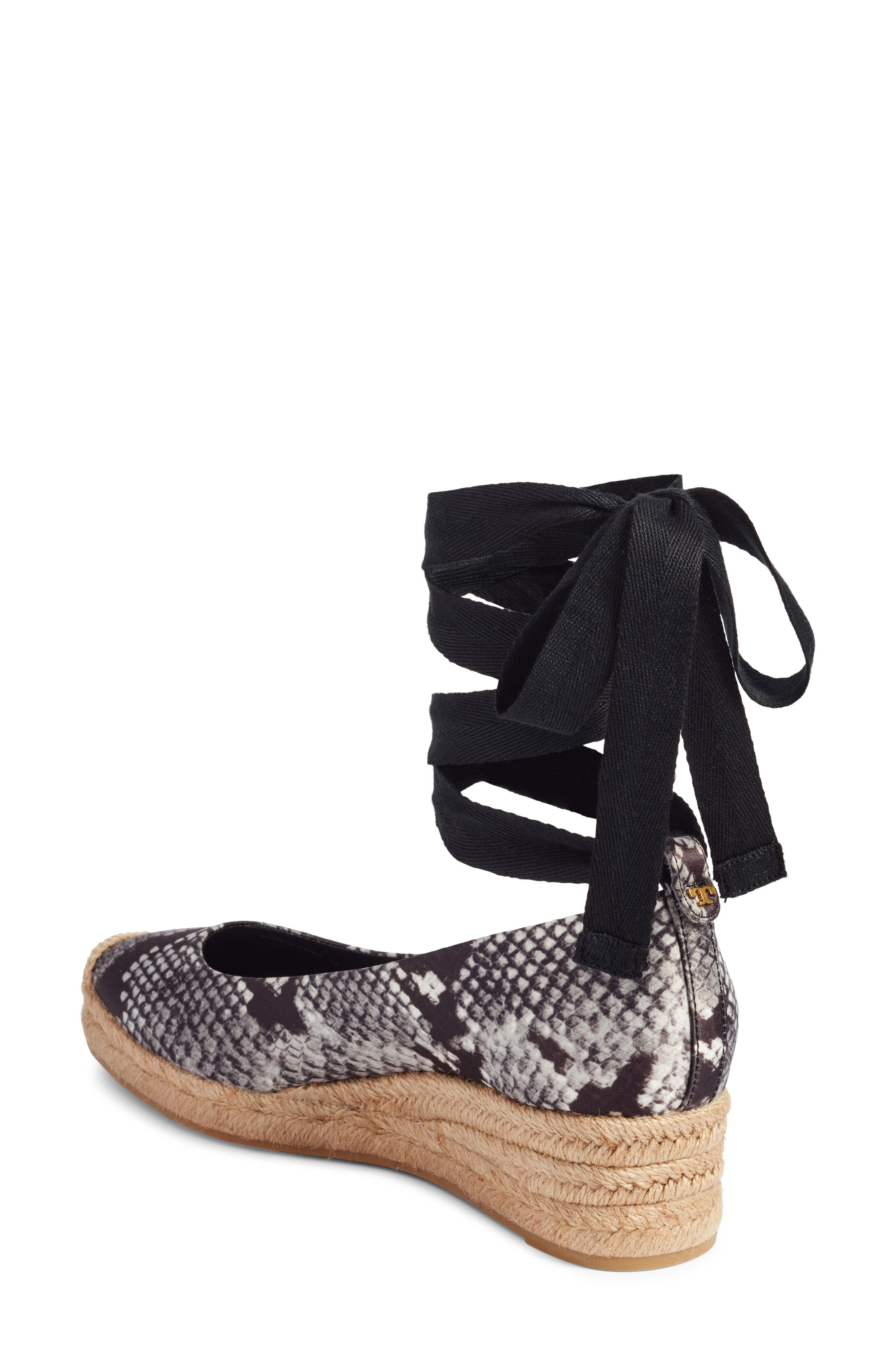 Alternate Image 2  - Tory Burch Heather Ankle Wrap Espadrille Wedge (Women)