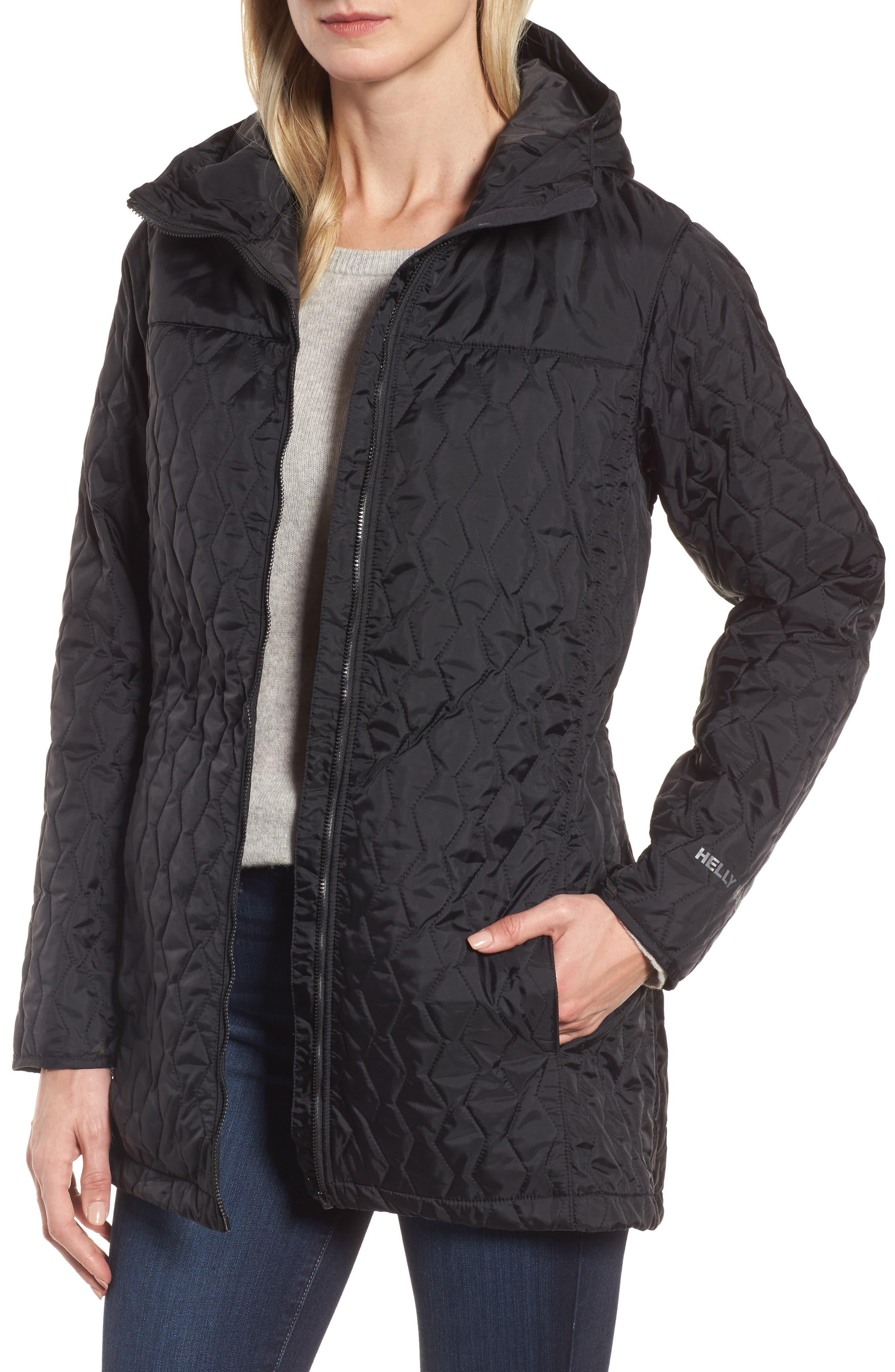 Rigging Waterproof 3-in-1 Raincoat,                             Alternate thumbnail 4, color,                             Para Black