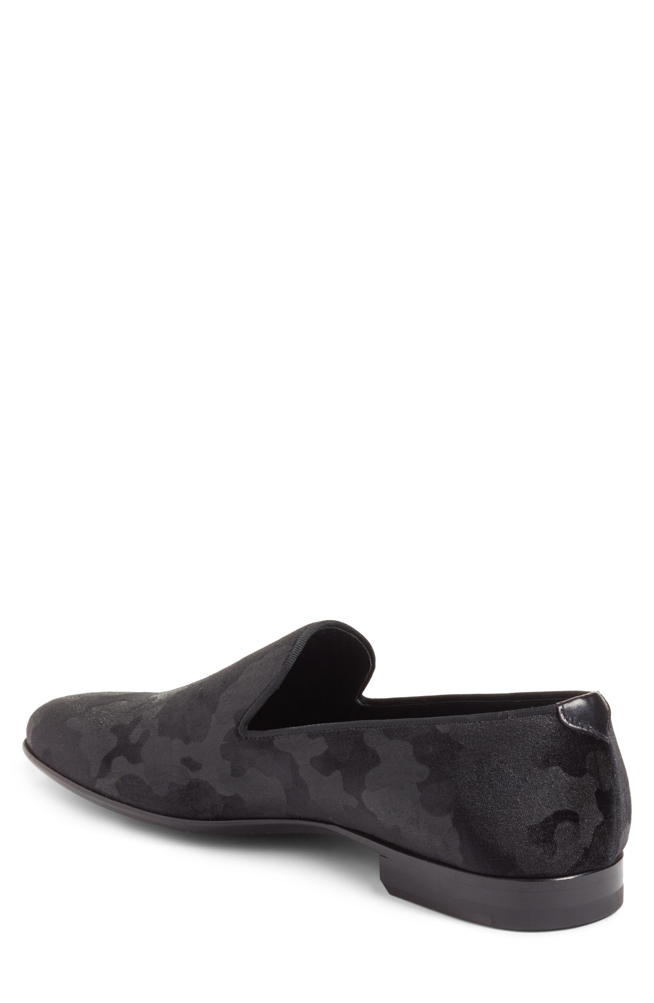 Delano Venetian Loafer,                             Alternate thumbnail 2, color,                             Black Camo