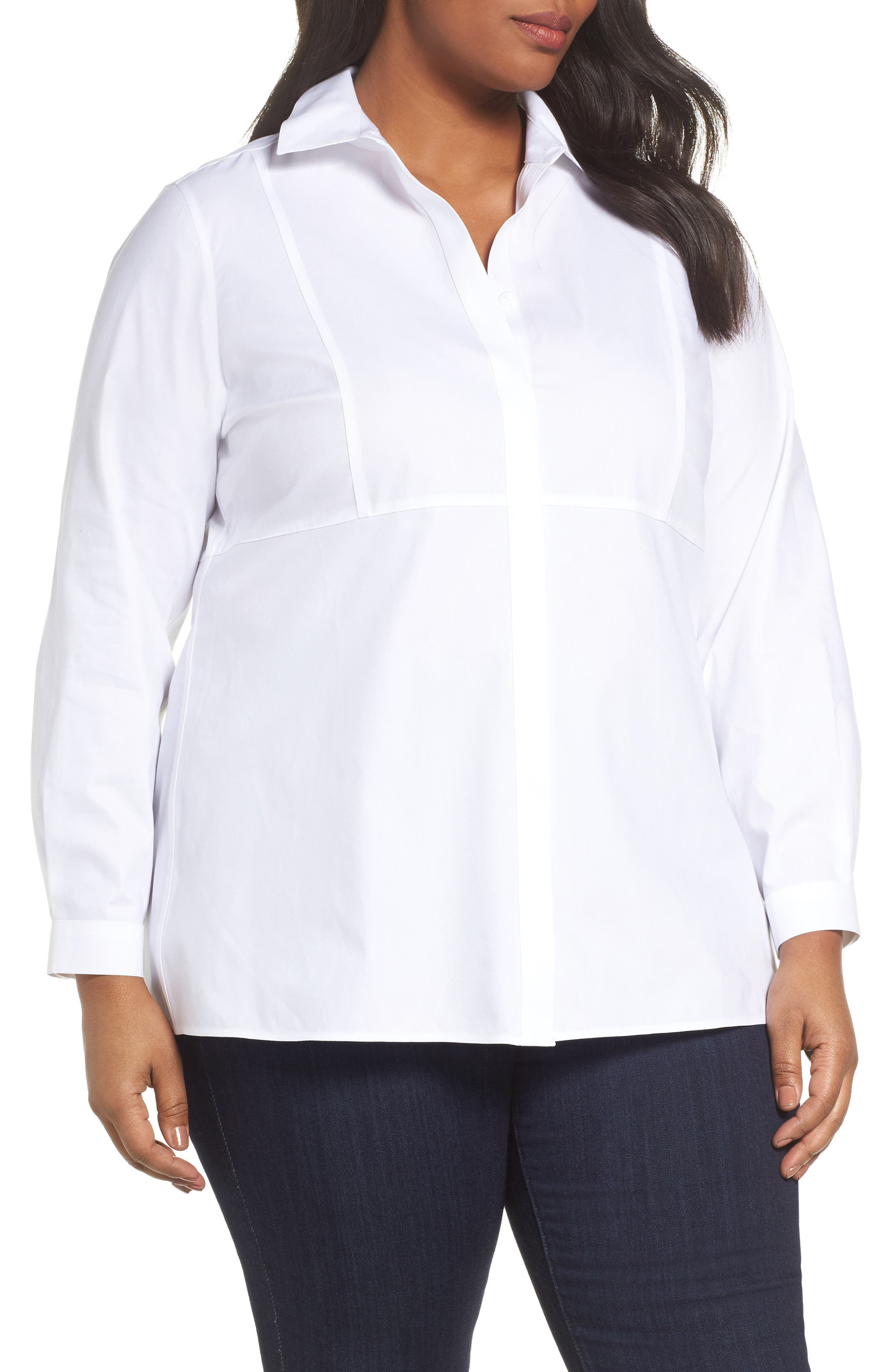 Pinpoint Oxford Cloth Shirt,                         Main,                         color, White