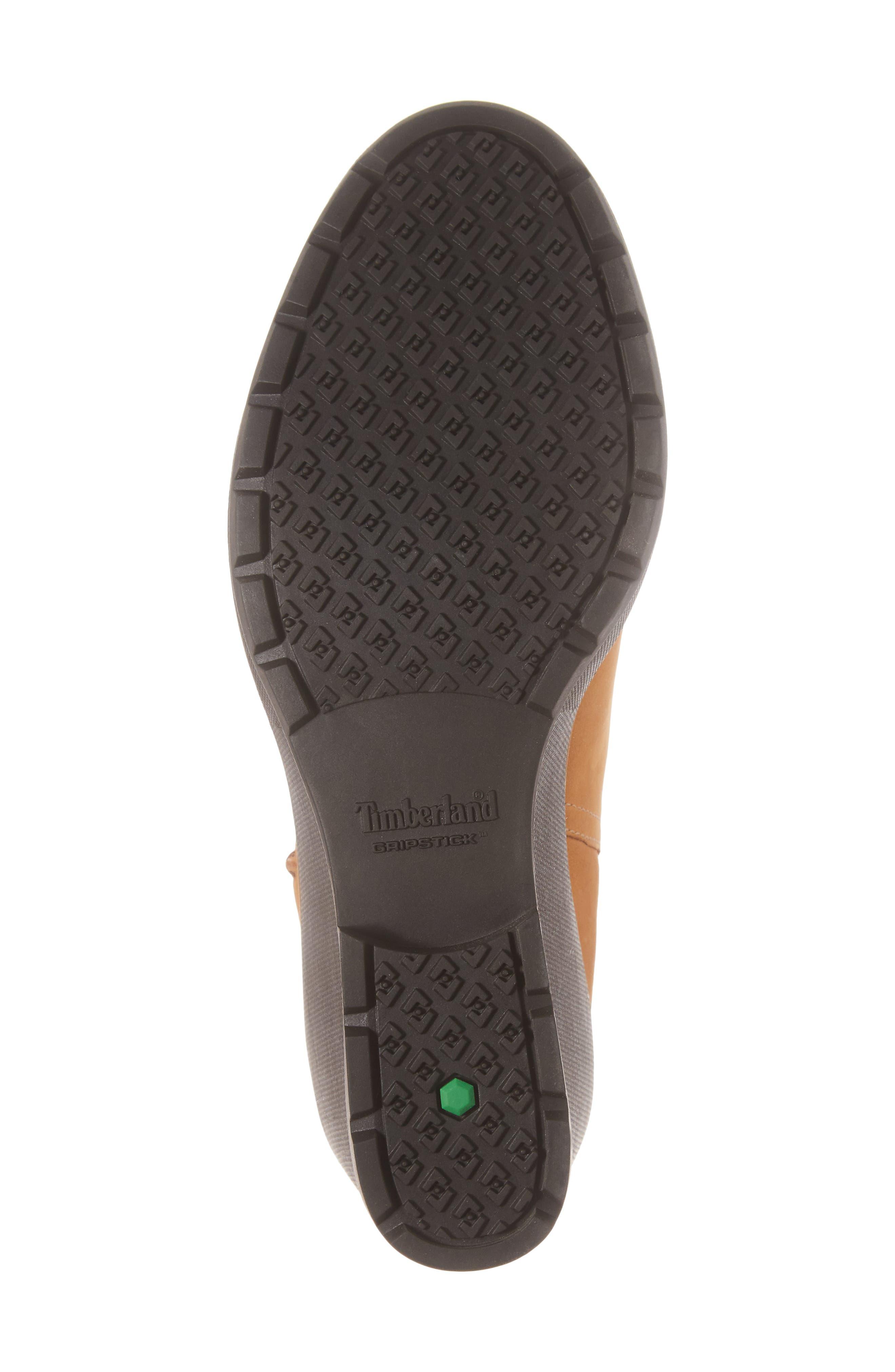 Kellis Water Resistant Chelsea Wedge Boot,                             Alternate thumbnail 6, color,                             Wheat Nubuck