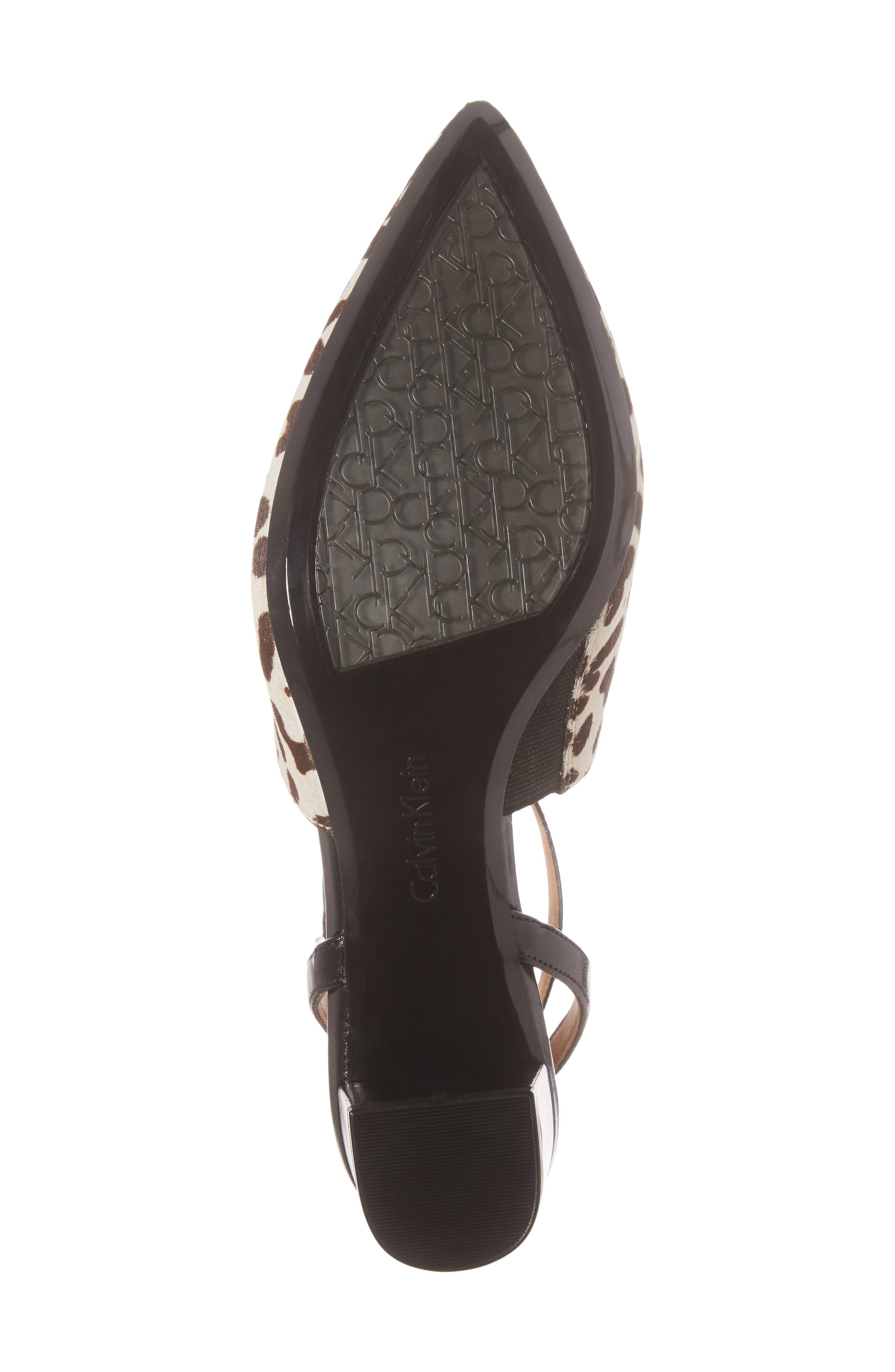 Alternate Image 6  - Calvin Klein Ginetta Ankle Strap Pump (Women)