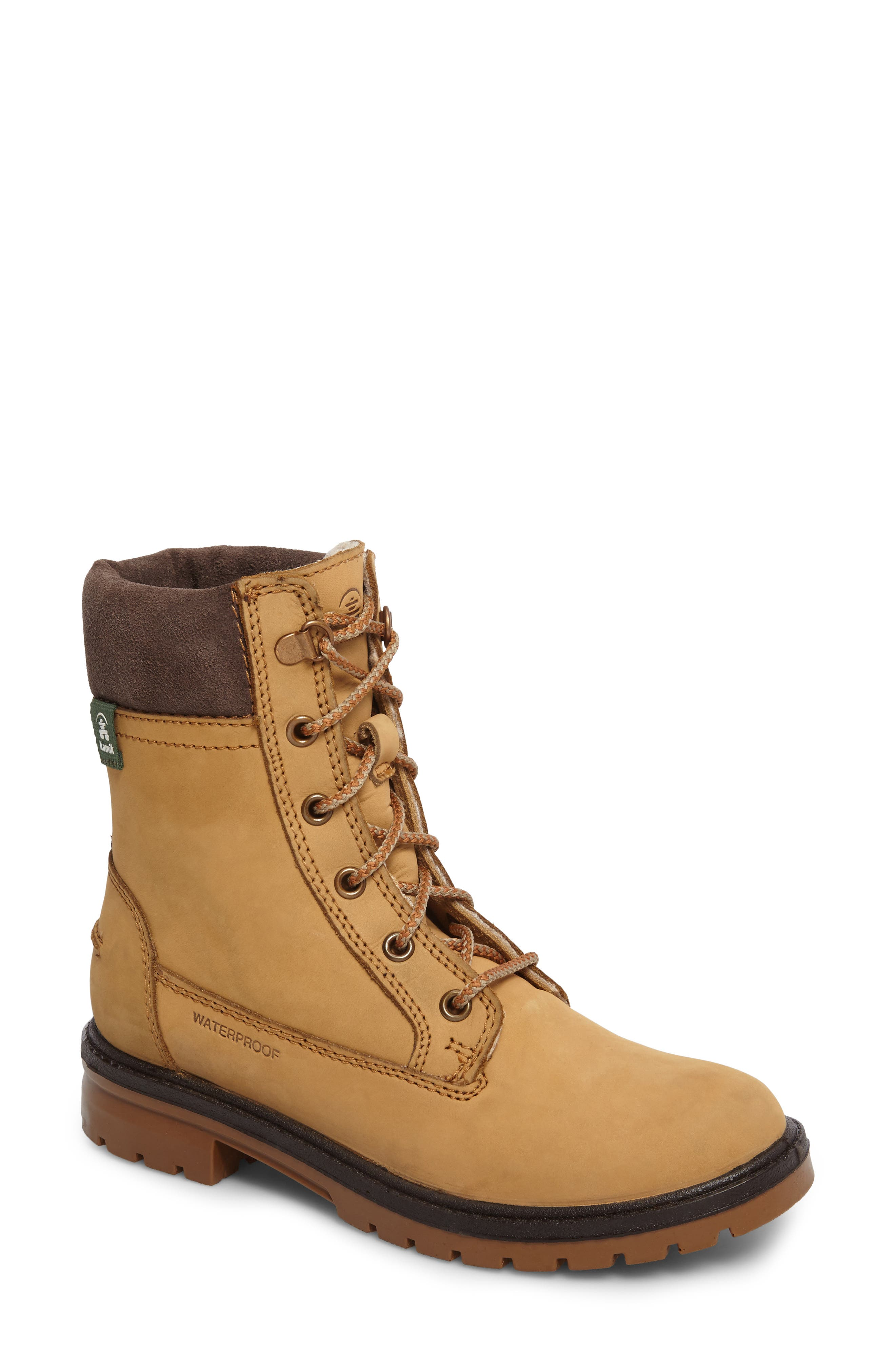 Rogue 5 Waterproof Boot,                             Main thumbnail 1, color,                             Honey Leather