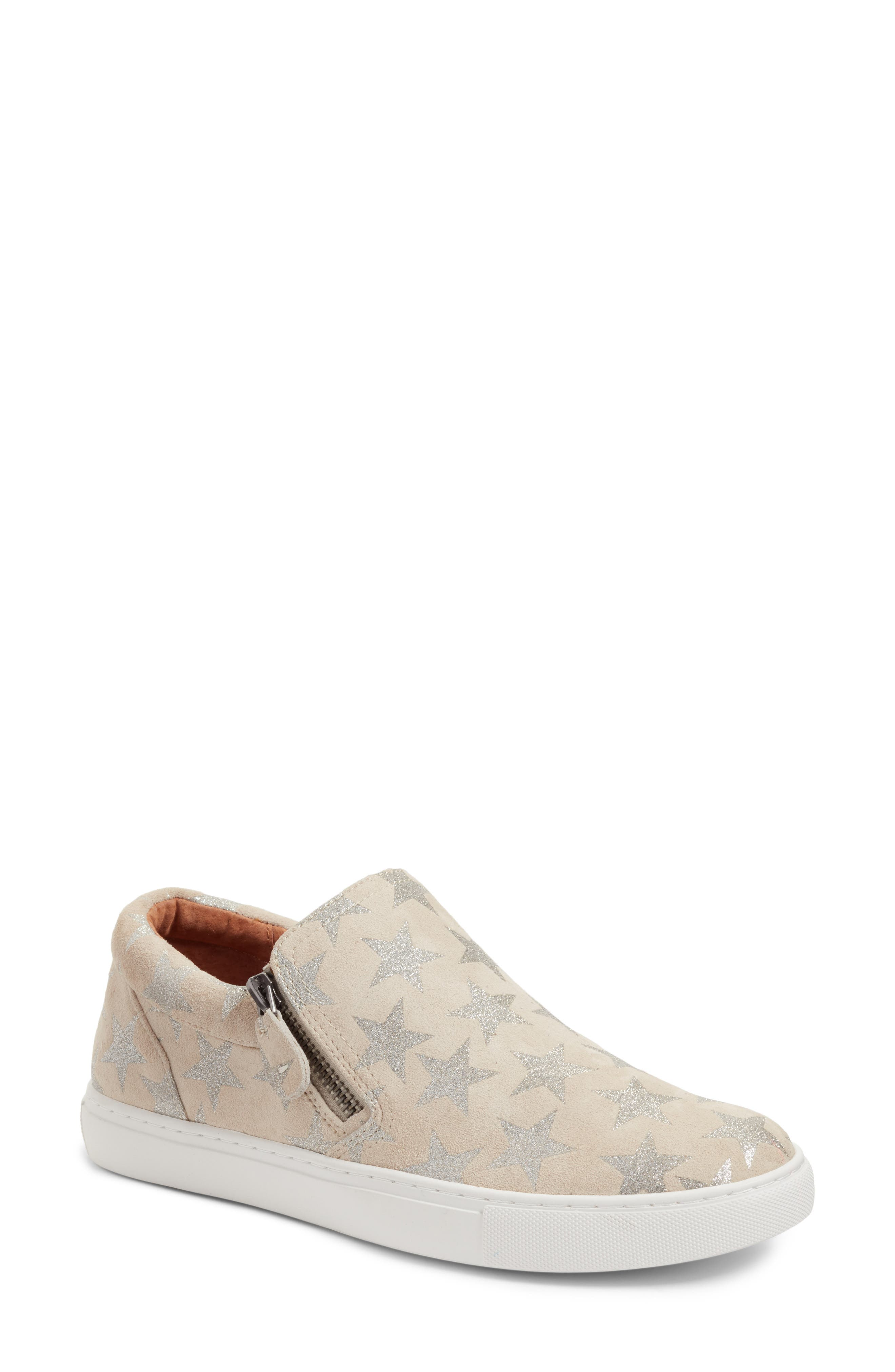 by Kenneth Cole Lowe Sneaker,                         Main,                         color, Off White Suede