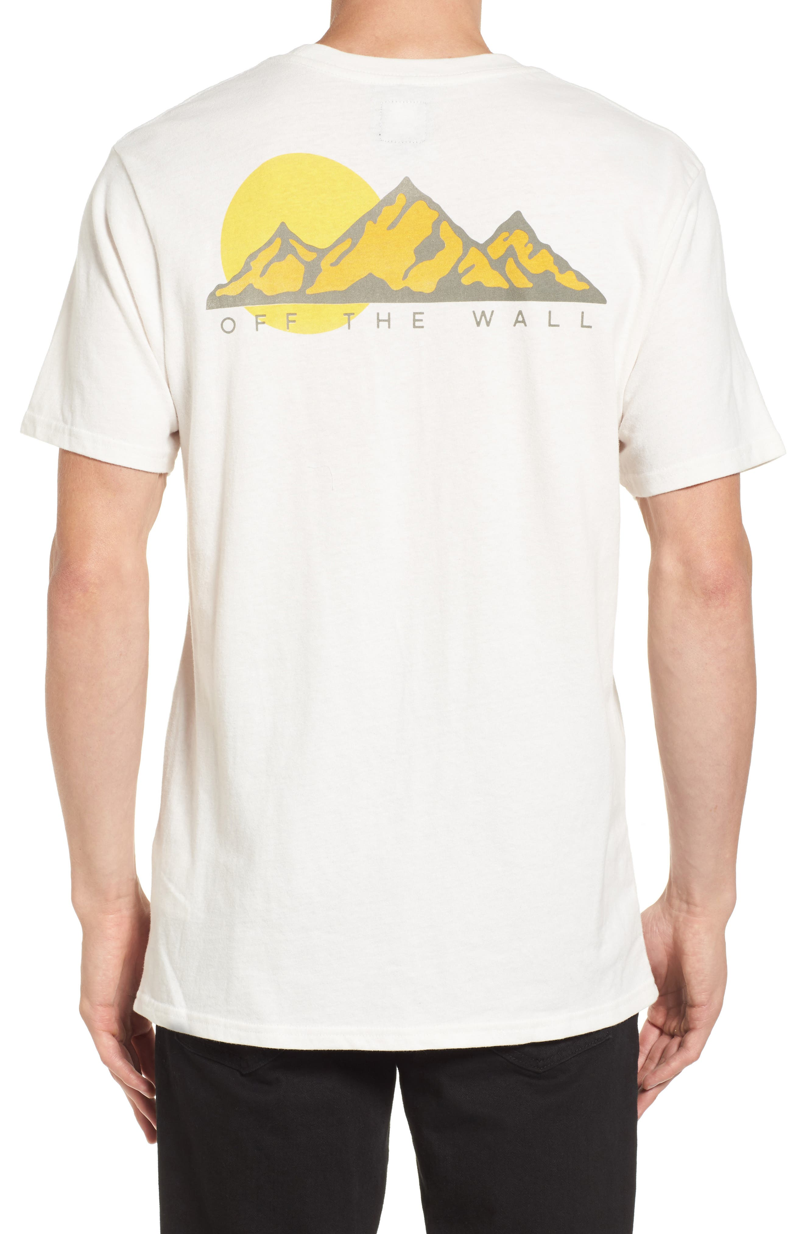 Alternate Image 2  - Vans Mountain T-Shirt