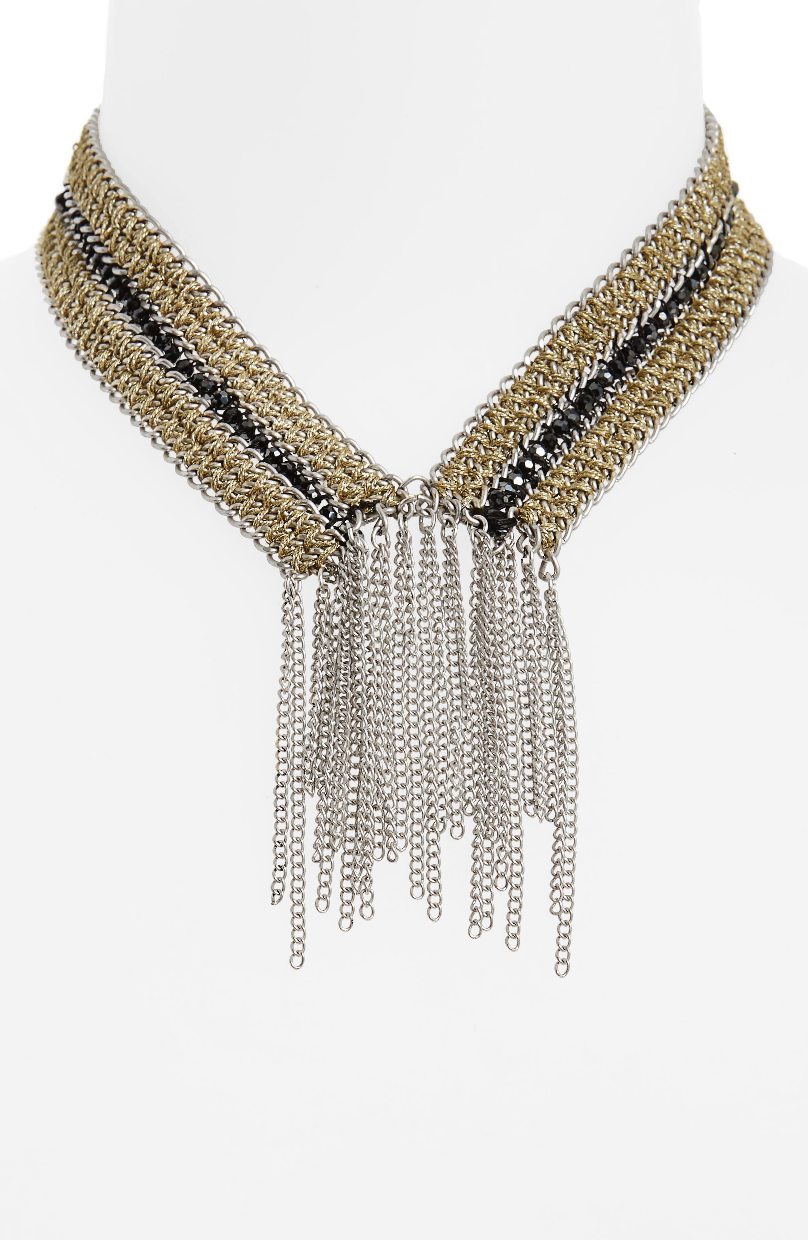 Main Image - Treasure & Bond Fringe Collar Necklace