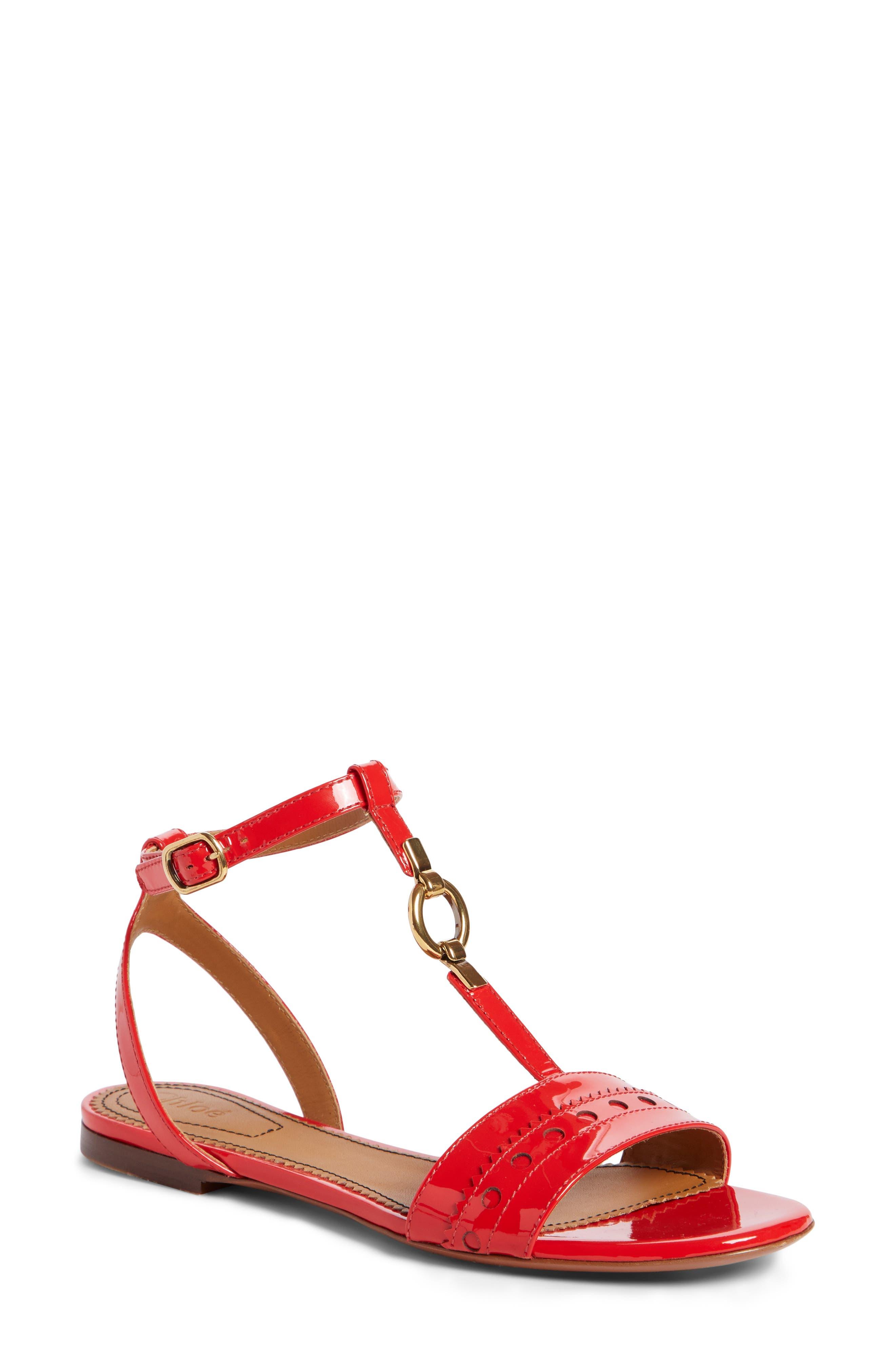 Chloé Perry Ankle Strap Sandal (Women)