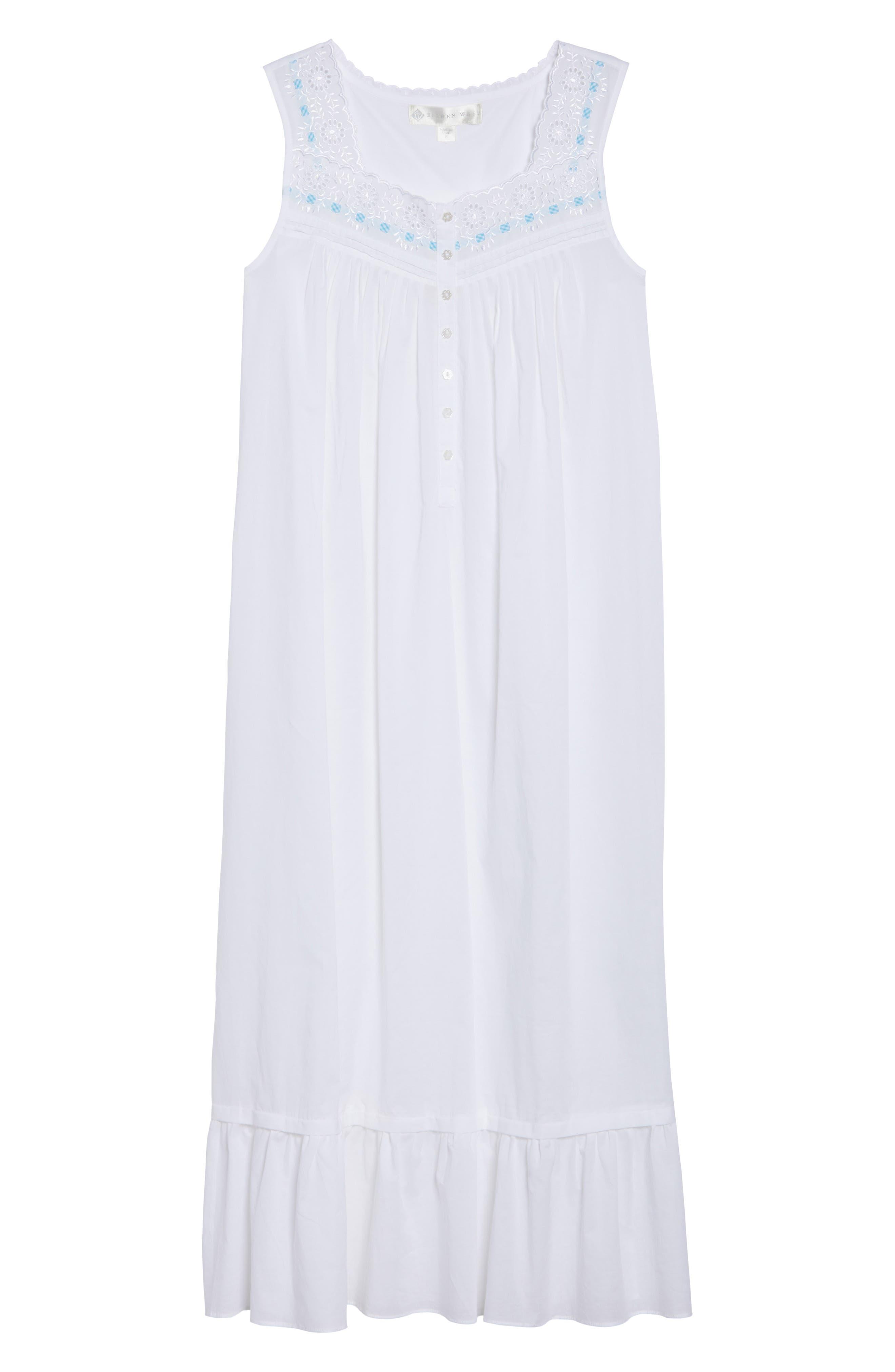 Ballet Nightgown,                             Alternate thumbnail 4, color,                             White