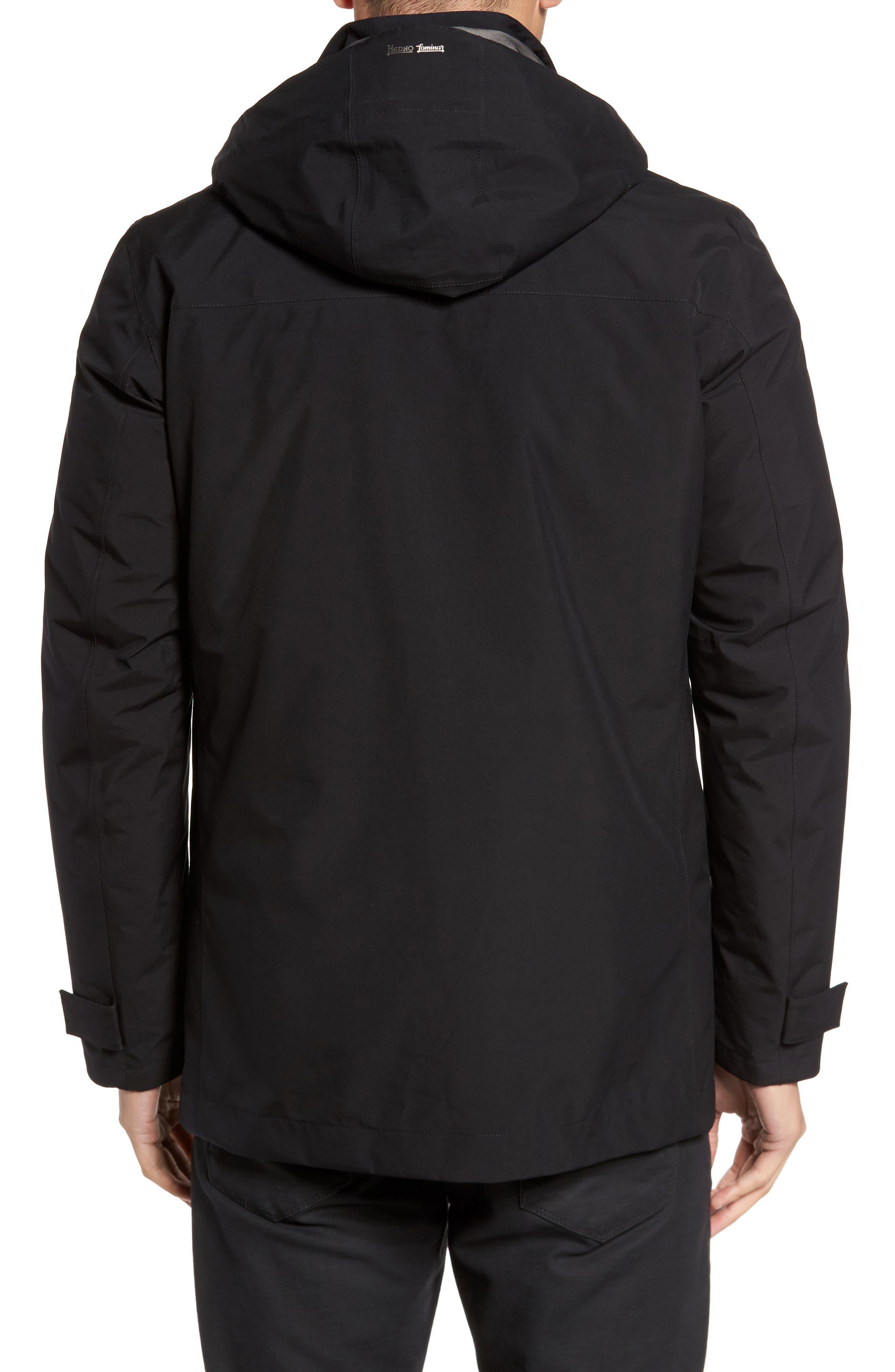 Laminar 3-in-1 Gore-Tex<sup>®</sup> Car Coat,                             Alternate thumbnail 2, color,                             Black