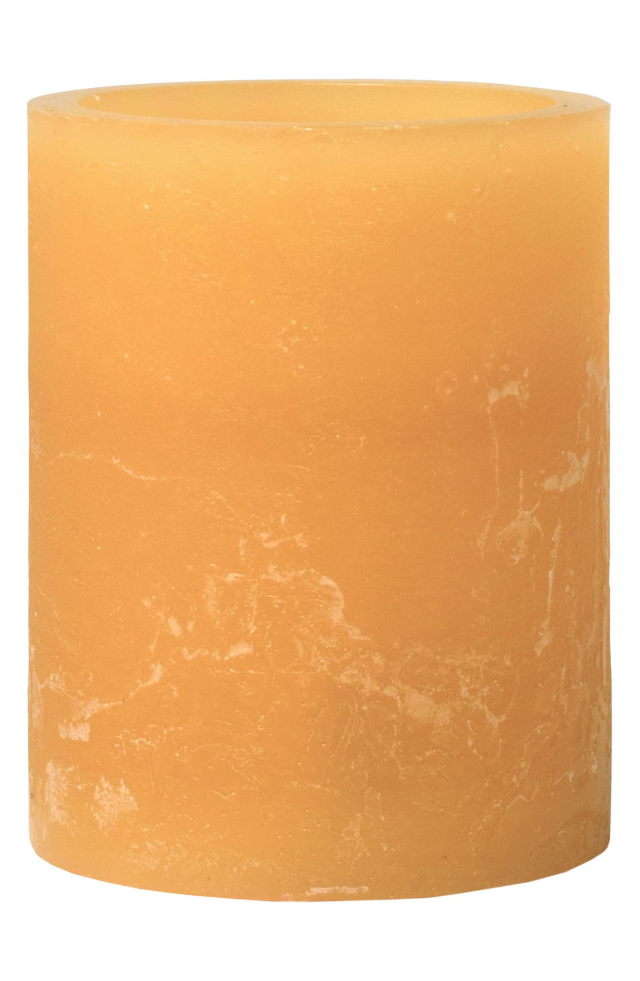 Honey Artisan Flameless Candle,                         Main,                         color, Honey
