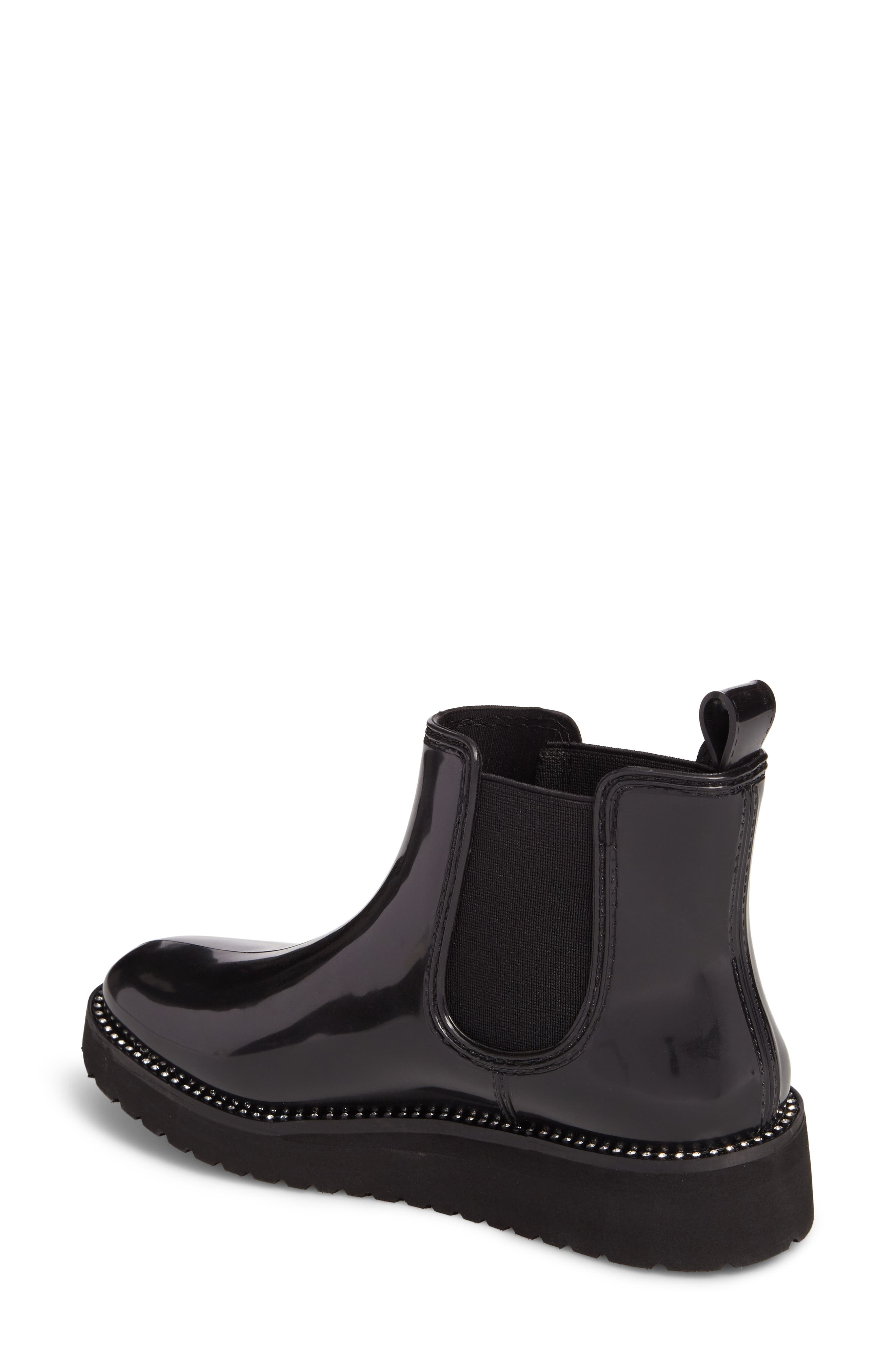 Kerry Waterproof Chelsea Boot,                             Alternate thumbnail 2, color,                             Black Diamond Welt