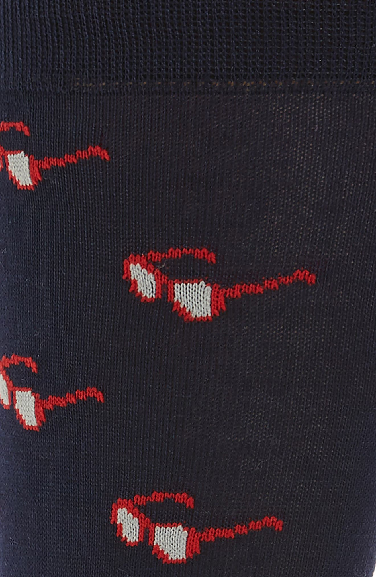 Alternate Image 2  - Paul Smith Sunglasses Jacquard Socks