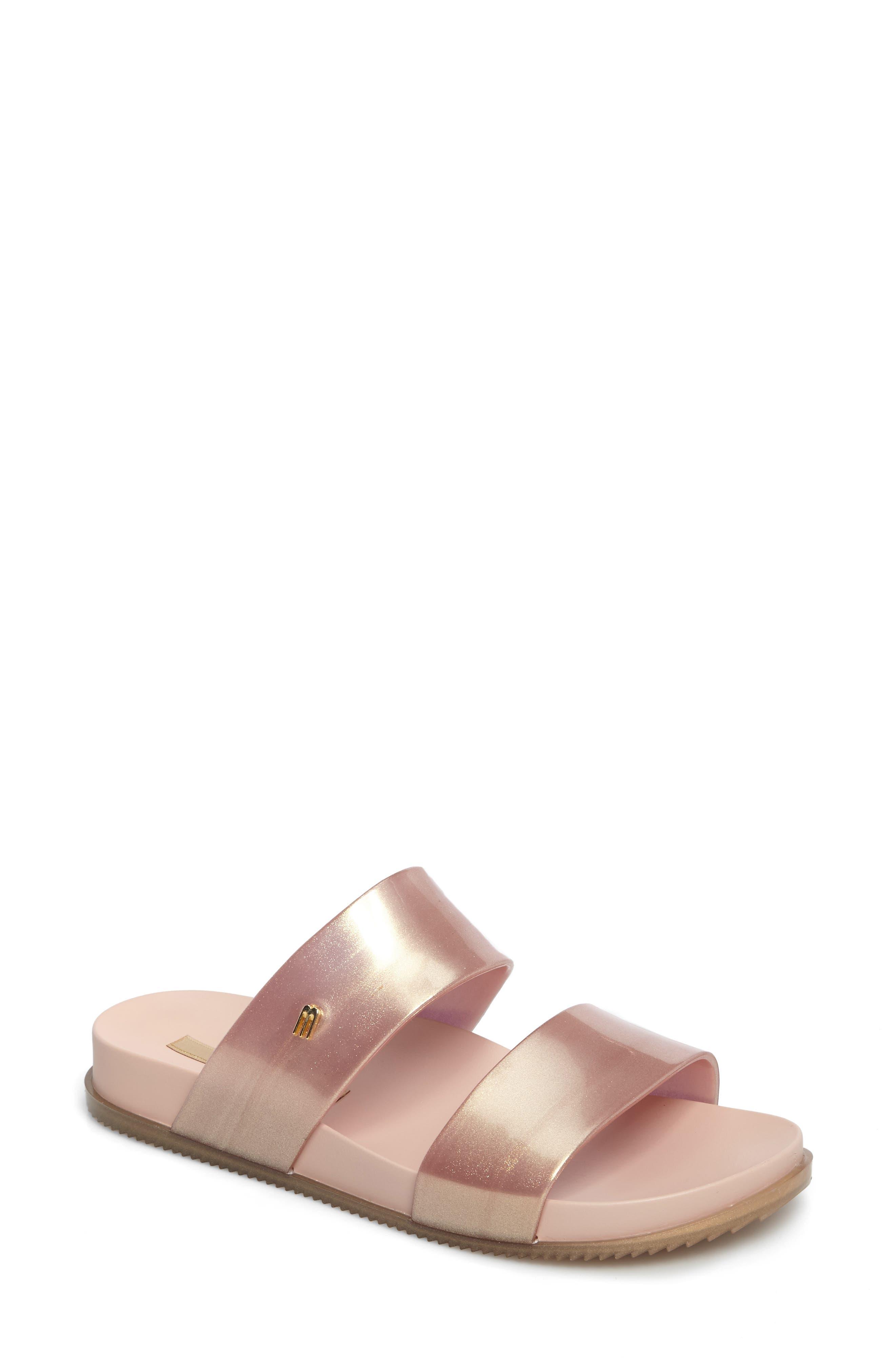 'Cosmic' Sandal,                         Main,                         color, Metallic Pink