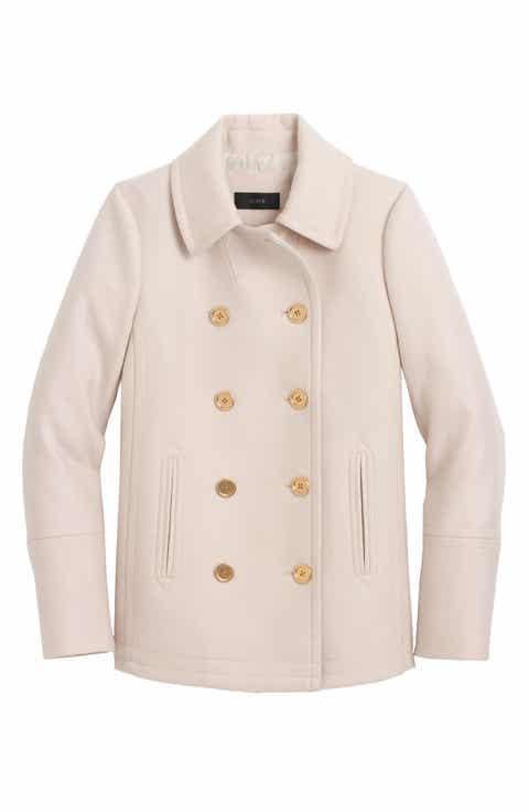 Women's Beige Peacoat Coats & Jackets | Nordstrom