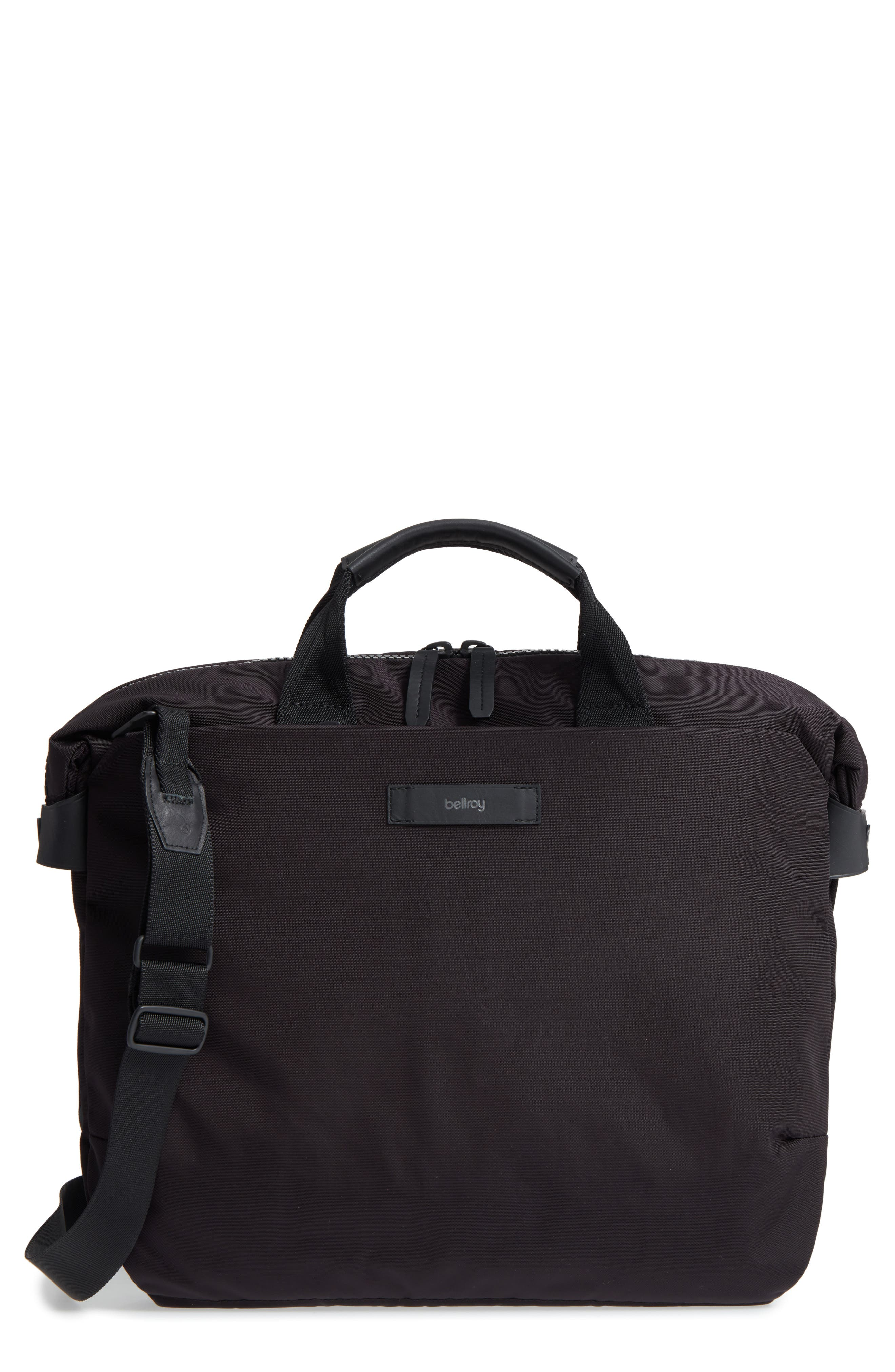 Duo Briefcase,                             Main thumbnail 1, color,                             Black