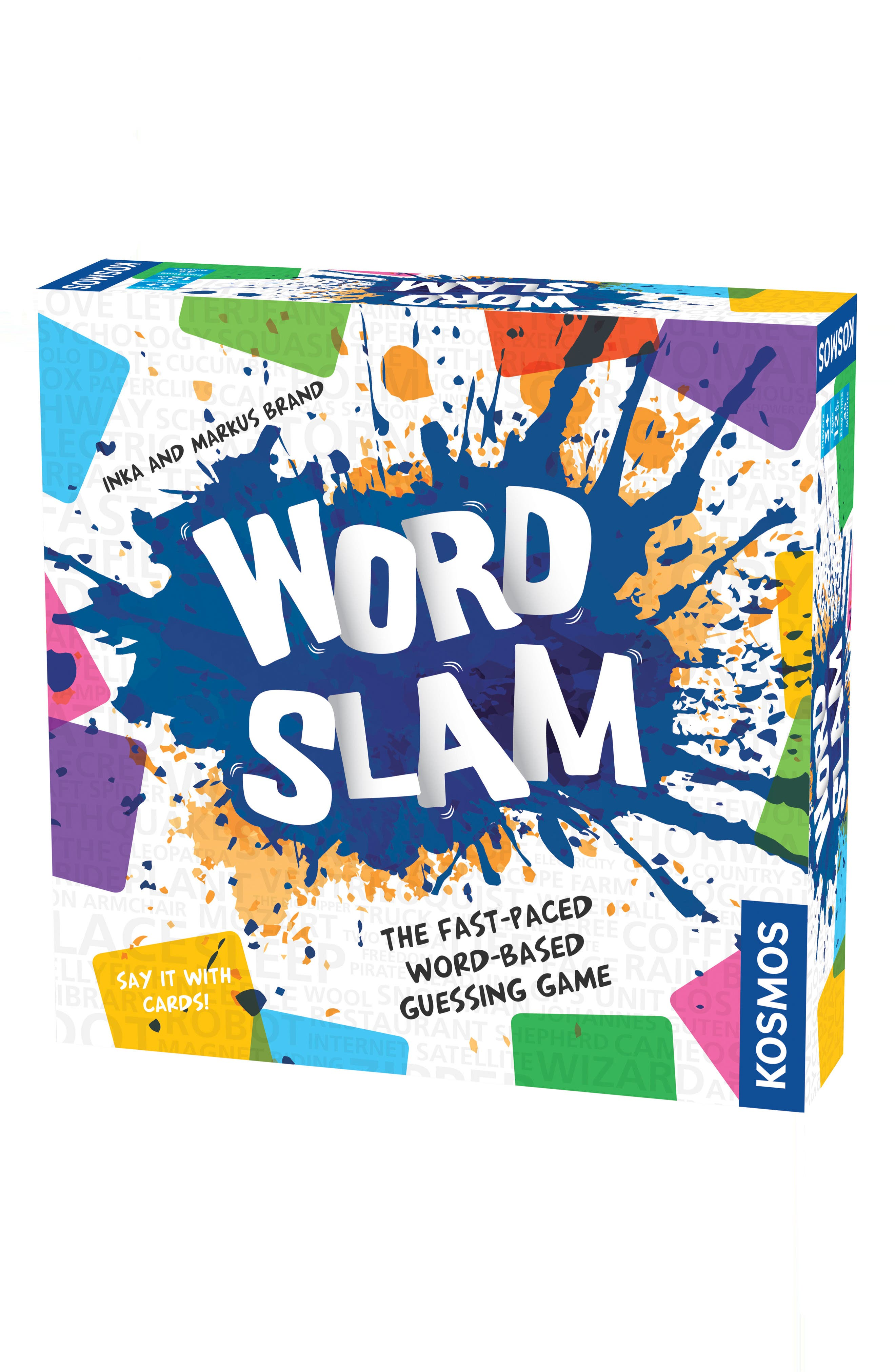Word Slam Guessing Game,                         Main,                         color, Multi