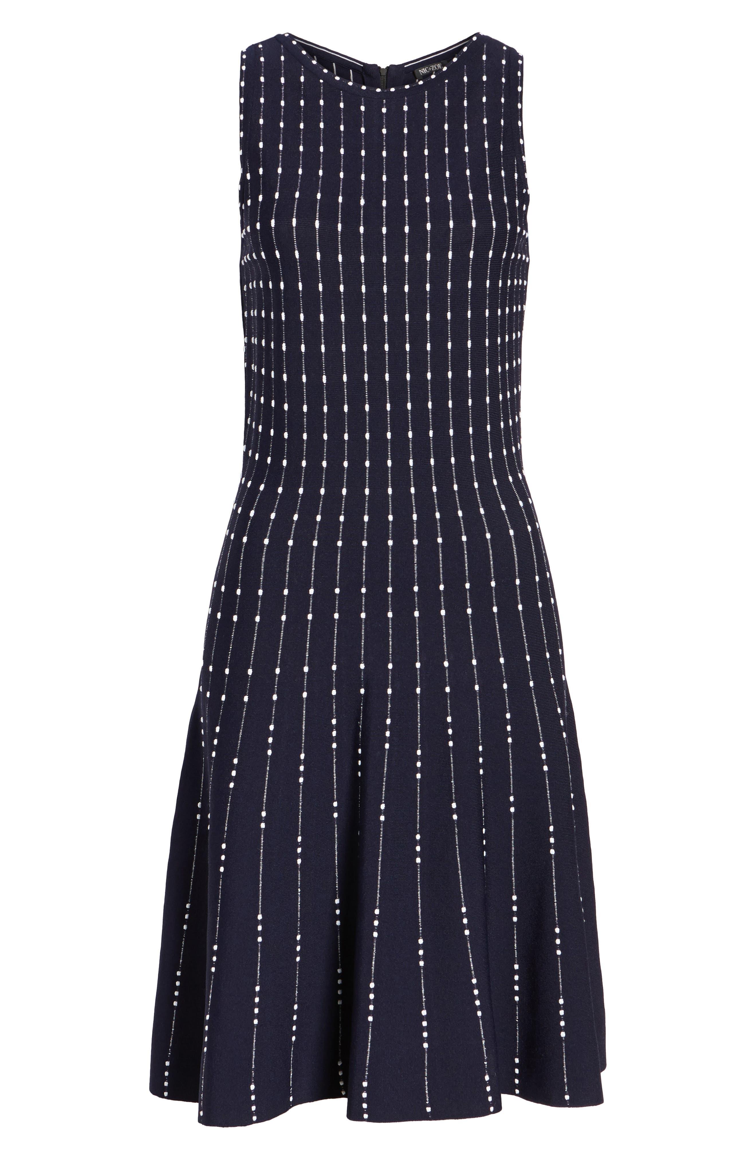 Alternate Image 6  - NIC+ZOE Iceland Twirl Dress (Regular & Petite)