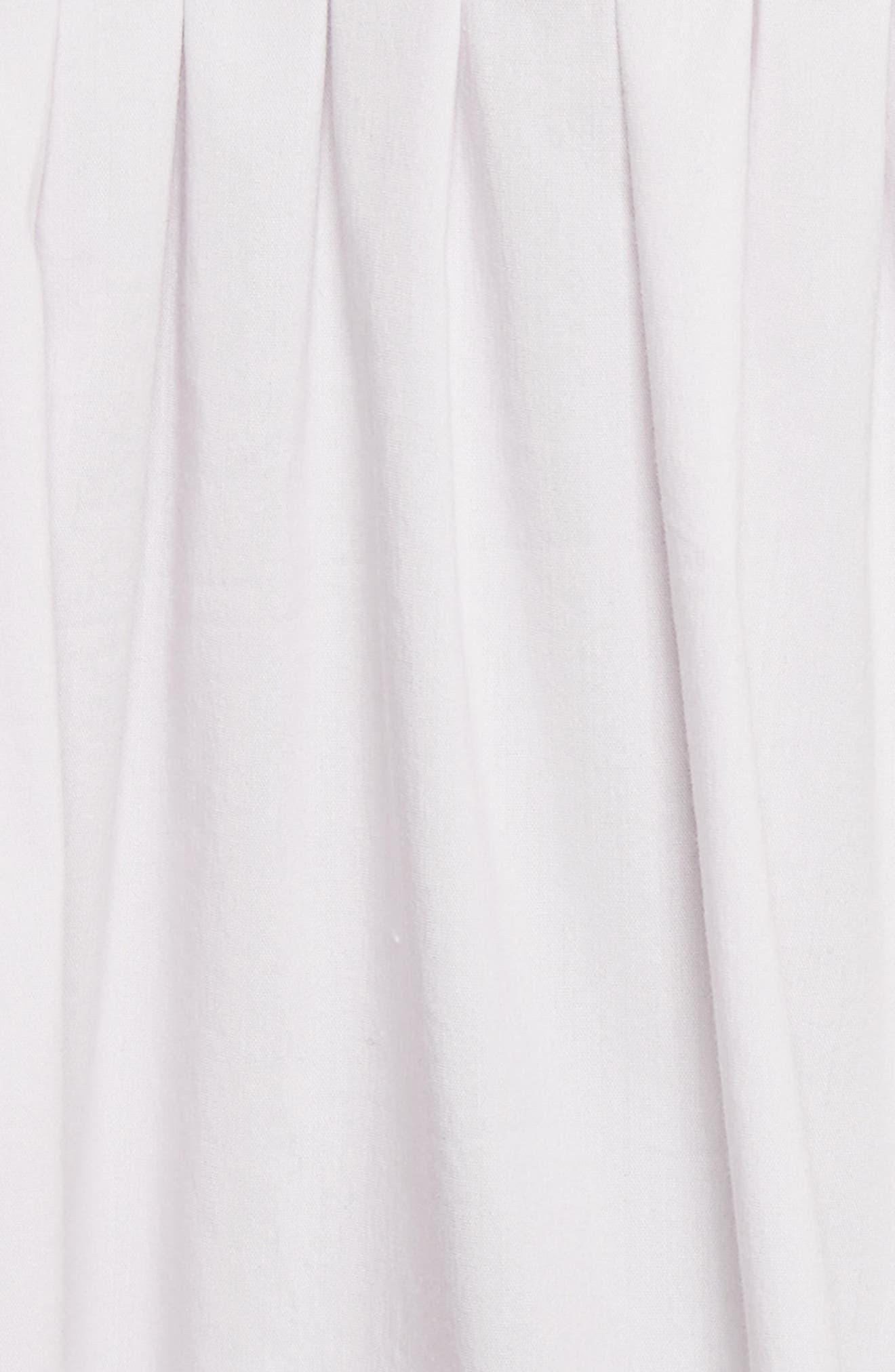 Alternate Image 5  - Rebecca Taylor Smocked Sateen Top