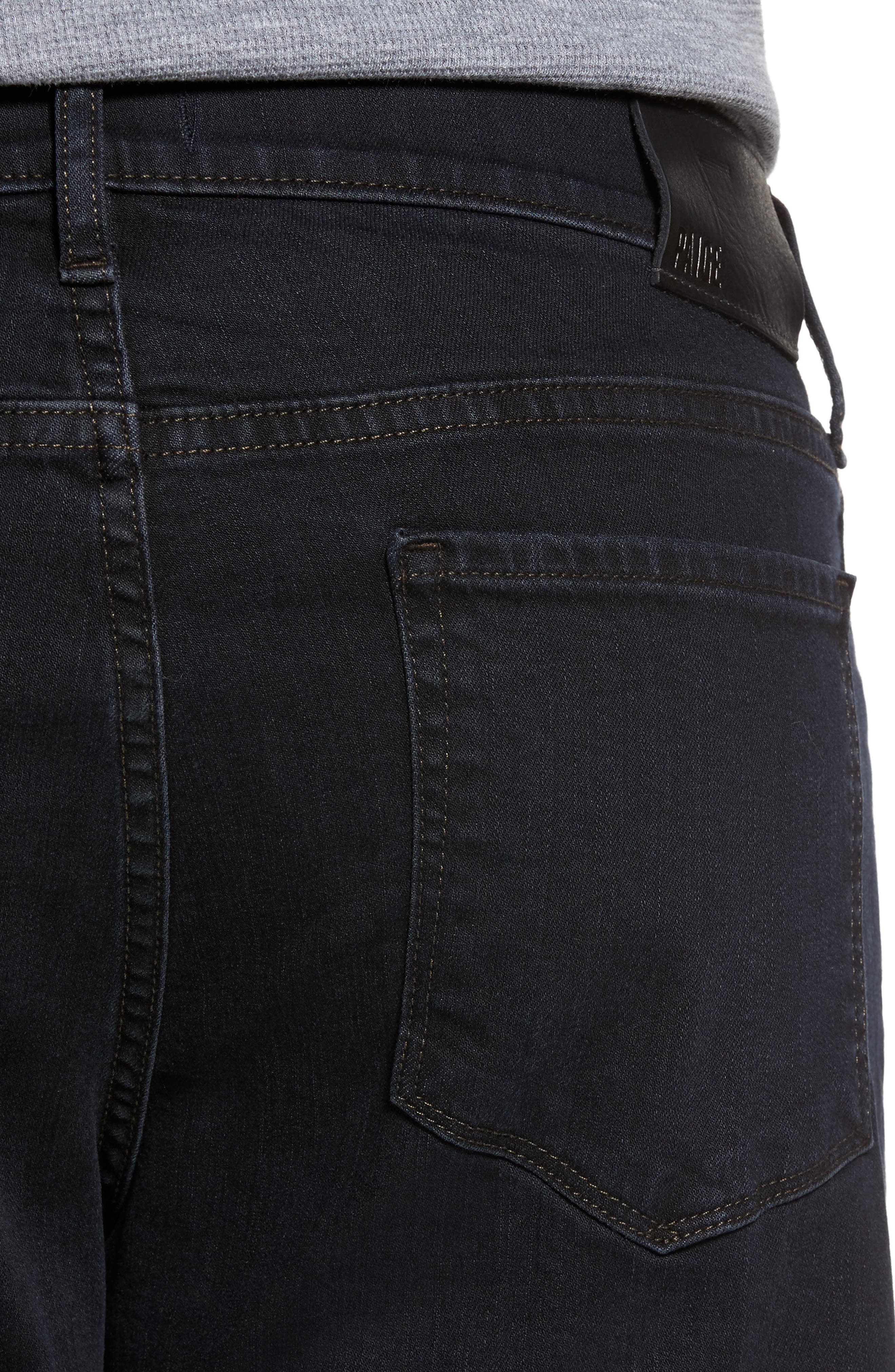 Alternate Image 4  - PAIGE Normandie Straight Leg Jeans (Tommy)