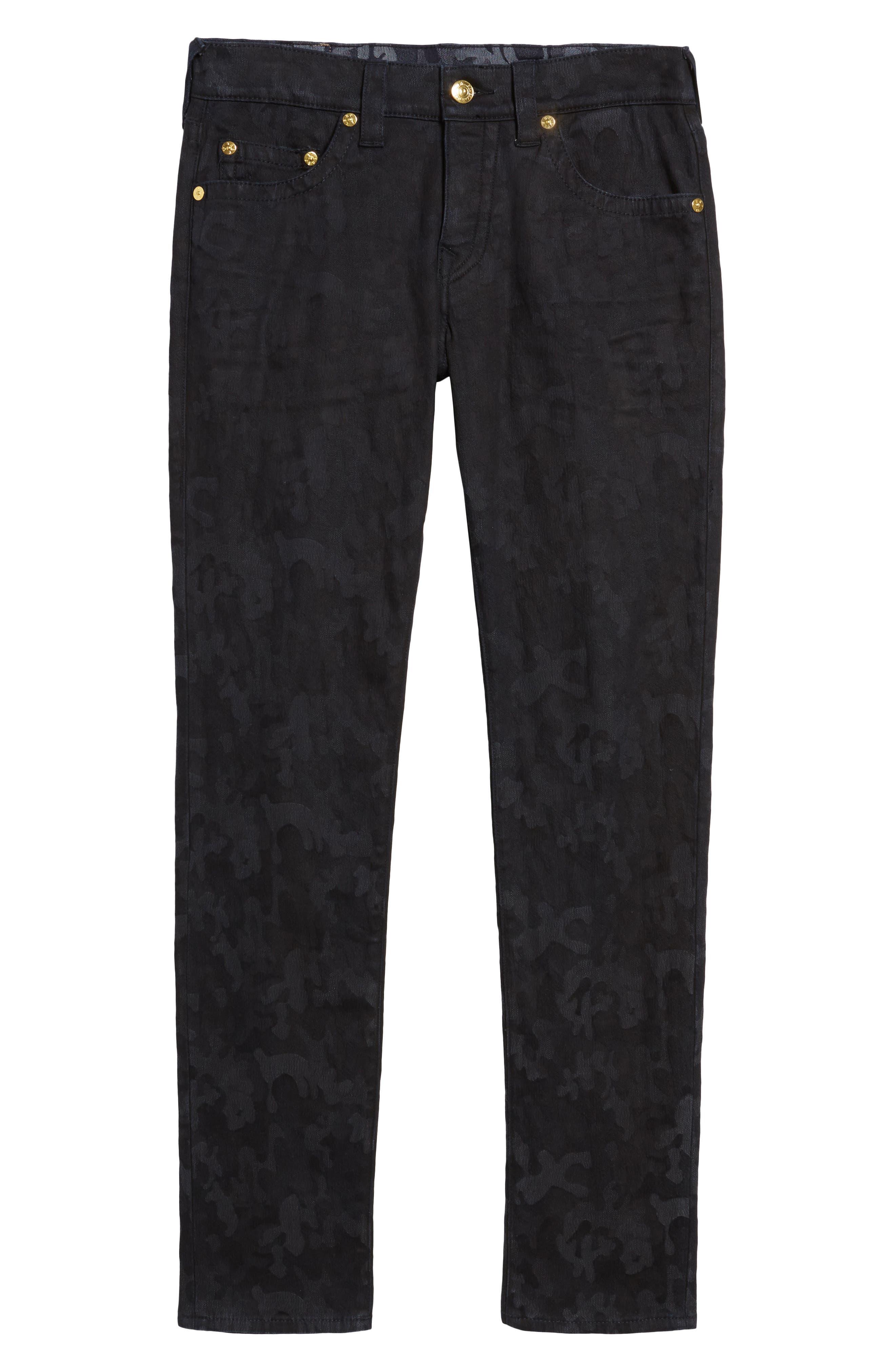 Alternate Image 6  - True Religion Brand Jeans Rocco Skinny Fit Jeans (Midnight Camo)